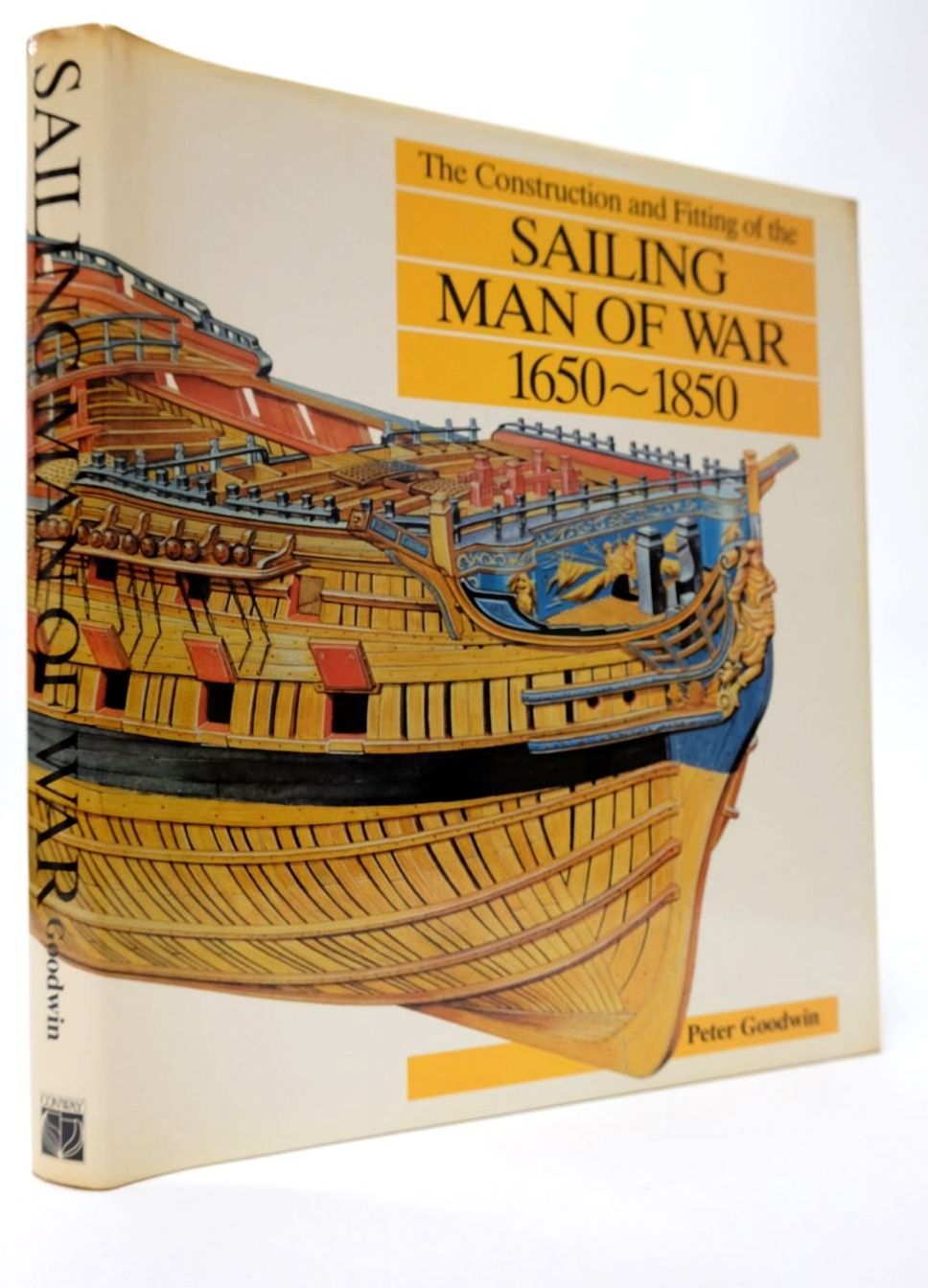 Photo of THE CONSTRUCTION AND FITTING OF THE SAILING MAN OF WAR 1650-1850 written by Goodwin, Peter published by Conway Maritime Press (STOCK CODE: 2132430)  for sale by Stella & Rose's Books