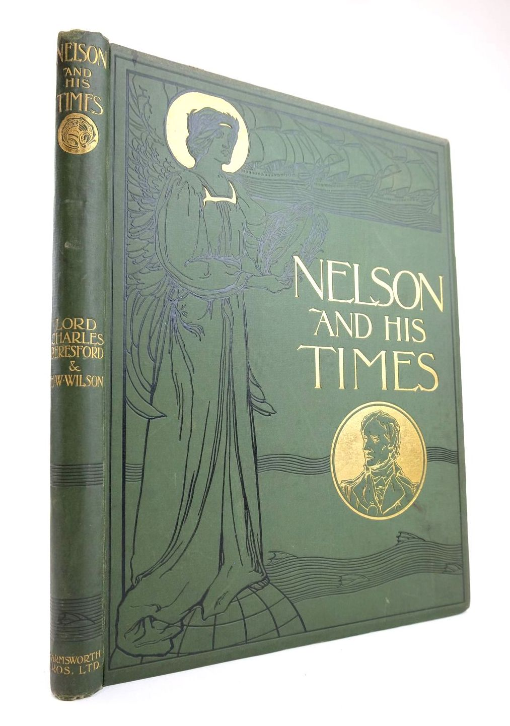 Photo of NELSON AND HIS TIMES written by Beresford, Charles