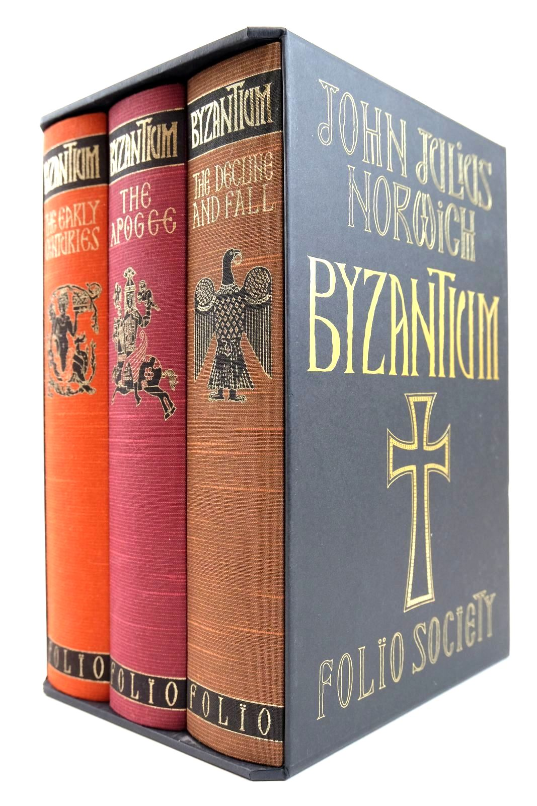 Photo of BYZANTIUM (3 VOLUMES)- Stock Number: 2132466