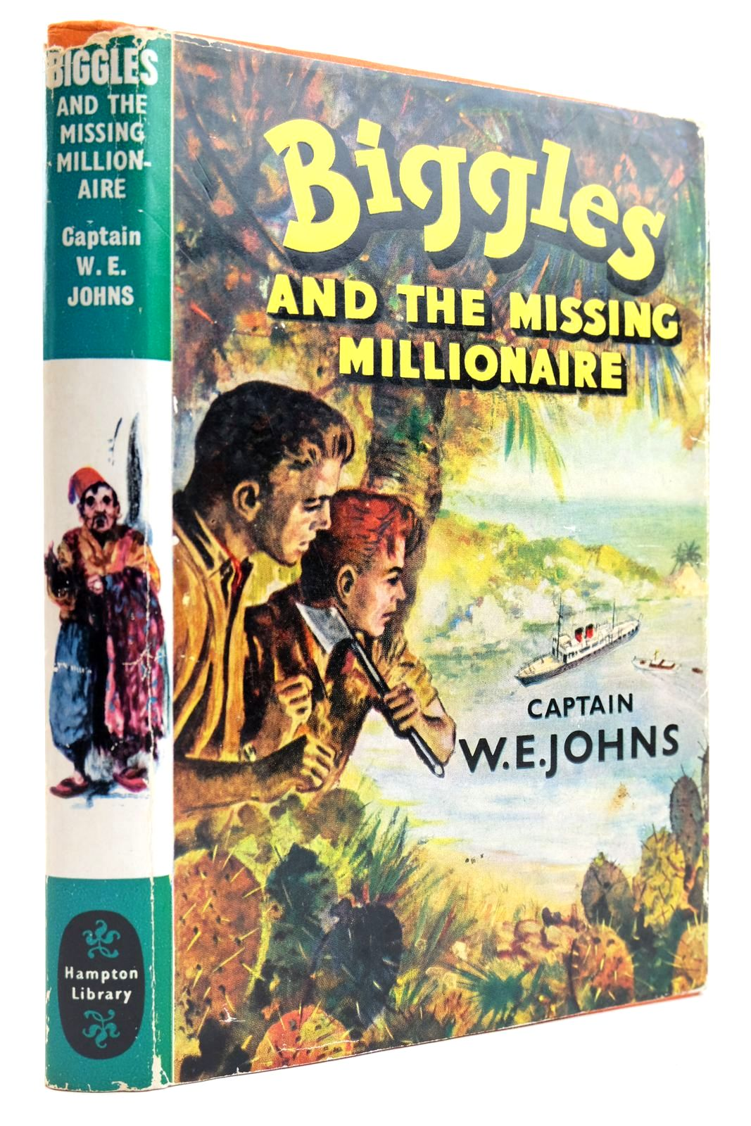 Photo of BIGGLES AND THE MISSING MILLIONAIRE- Stock Number: 2132496