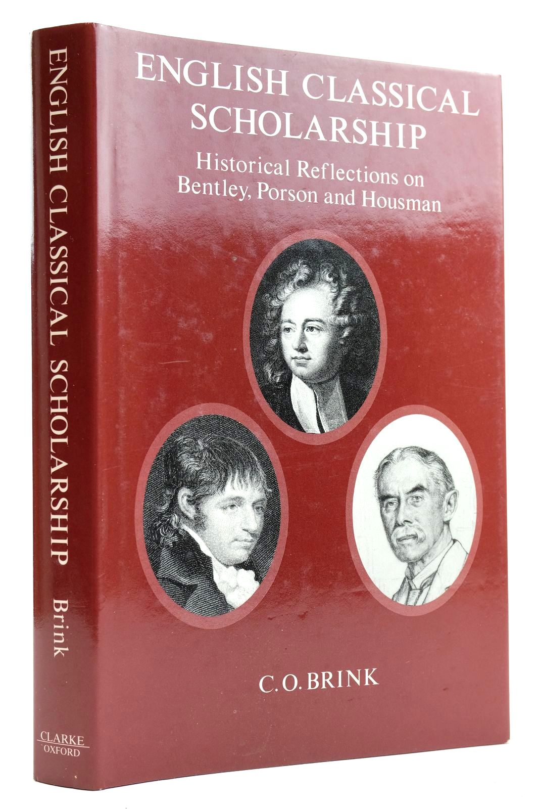 Photo of ENGLISH CLASSICAL SCHOLARSHIP HISTORICAL REFLECTIONS ON BENTLEY, PORSON, AND HOUSMAN- Stock Number: 2132508