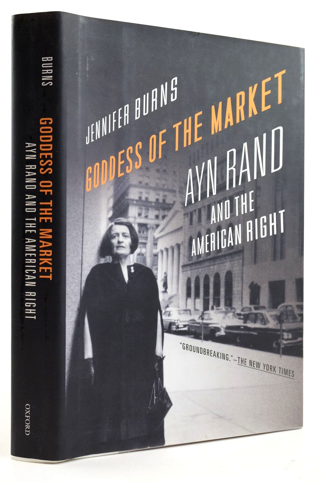 Photo of GODDESS OF THE MARKET AYN RAND AND THE AMERICAN RIGHT written by Burns, Jennifer published by Oxford University Press (STOCK CODE: 2132513)  for sale by Stella & Rose's Books