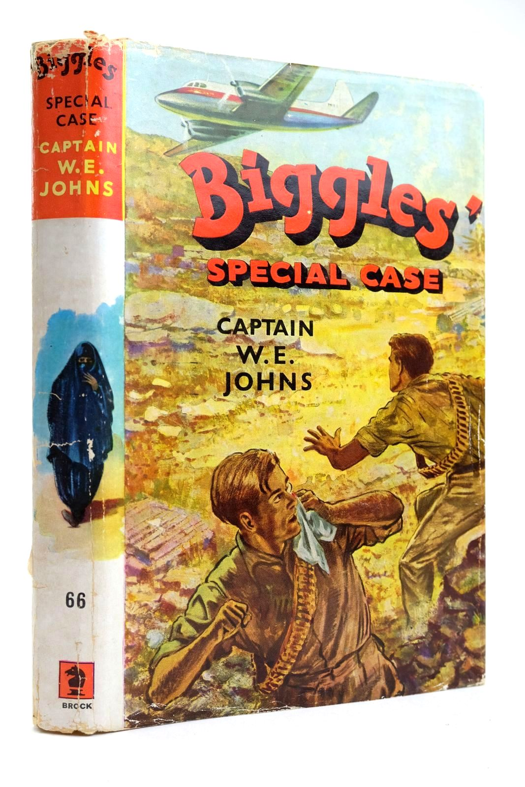 Photo of BIGGLES' SPECIAL CASE written by Johns, W.E. illustrated by Stead, Leslie published by Brockhampton Press (STOCK CODE: 2132519)  for sale by Stella & Rose's Books