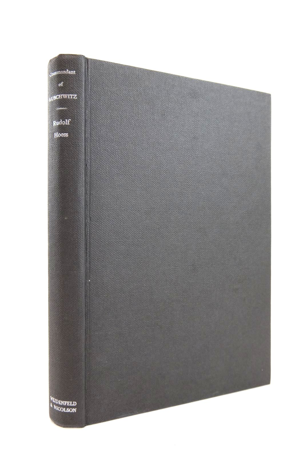 Photo of COMMANDANT OF AUSCHWITZ written by Hoess, Rudolf published by Weidenfeld and Nicolson (STOCK CODE: 2132539)  for sale by Stella & Rose's Books