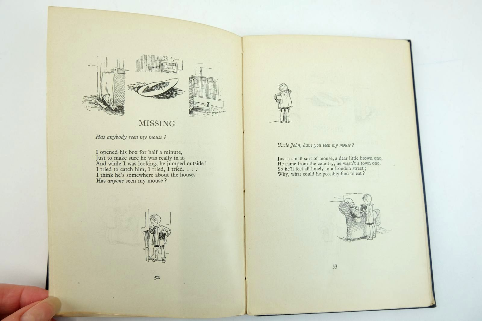 Photo of WHEN WE WERE VERY YOUNG written by Milne, A.A. illustrated by Shepard, E.H. published by Methuen & Co. Ltd. (STOCK CODE: 2132540)  for sale by Stella & Rose's Books