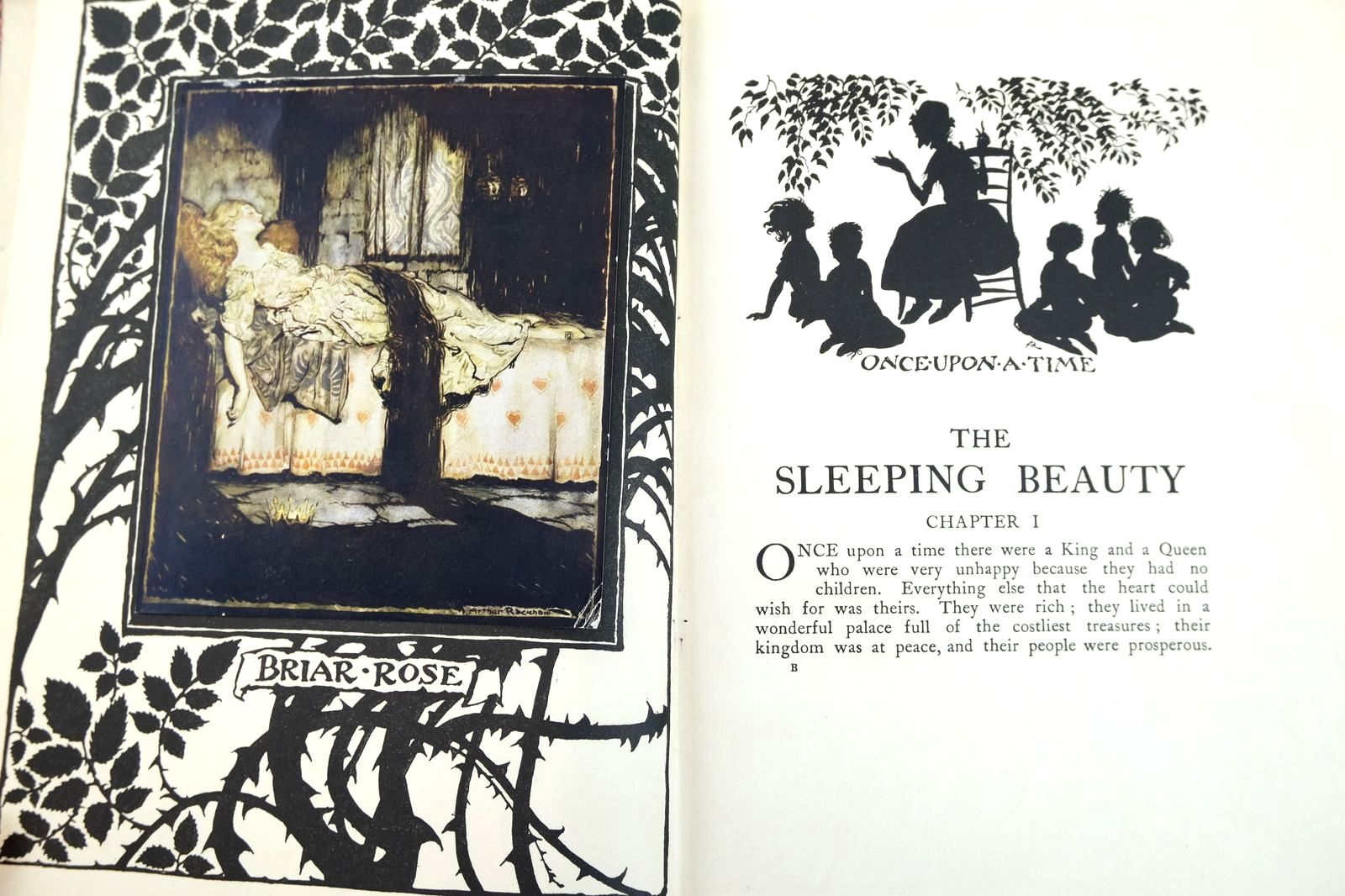 Photo of THE SLEEPING BEAUTY written by Evans, C.S. illustrated by Rackham, Arthur published by William Heinemann (STOCK CODE: 2132544)  for sale by Stella & Rose's Books