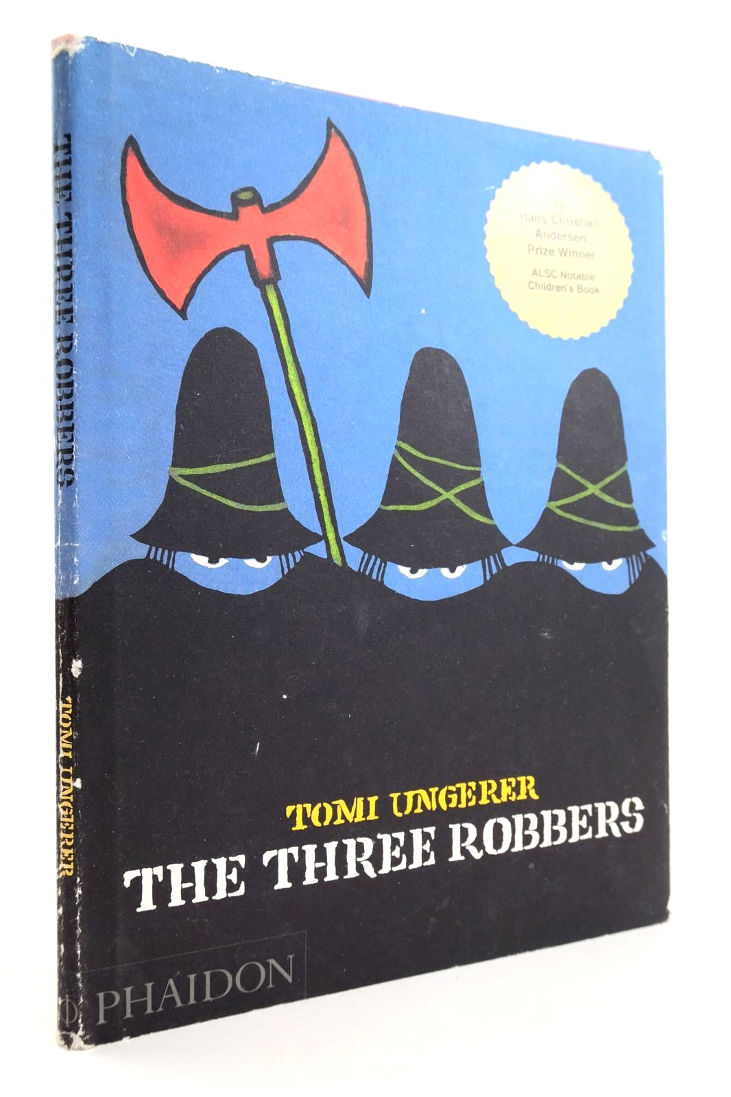 Photo of THE THREE ROBBERS written by Ungerer, Tomi illustrated by Ungerer, Tomi published by Phaidon Press Limited (STOCK CODE: 2132550)  for sale by Stella & Rose's Books
