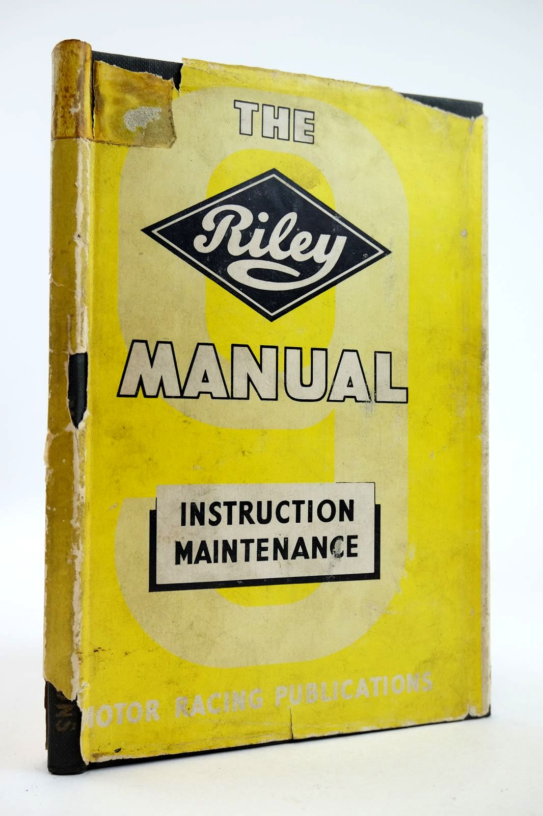 Photo of THE RILEY 9 MANUAL OF INSTRUCTION AND MAINTENANCE- Stock Number: 2132561