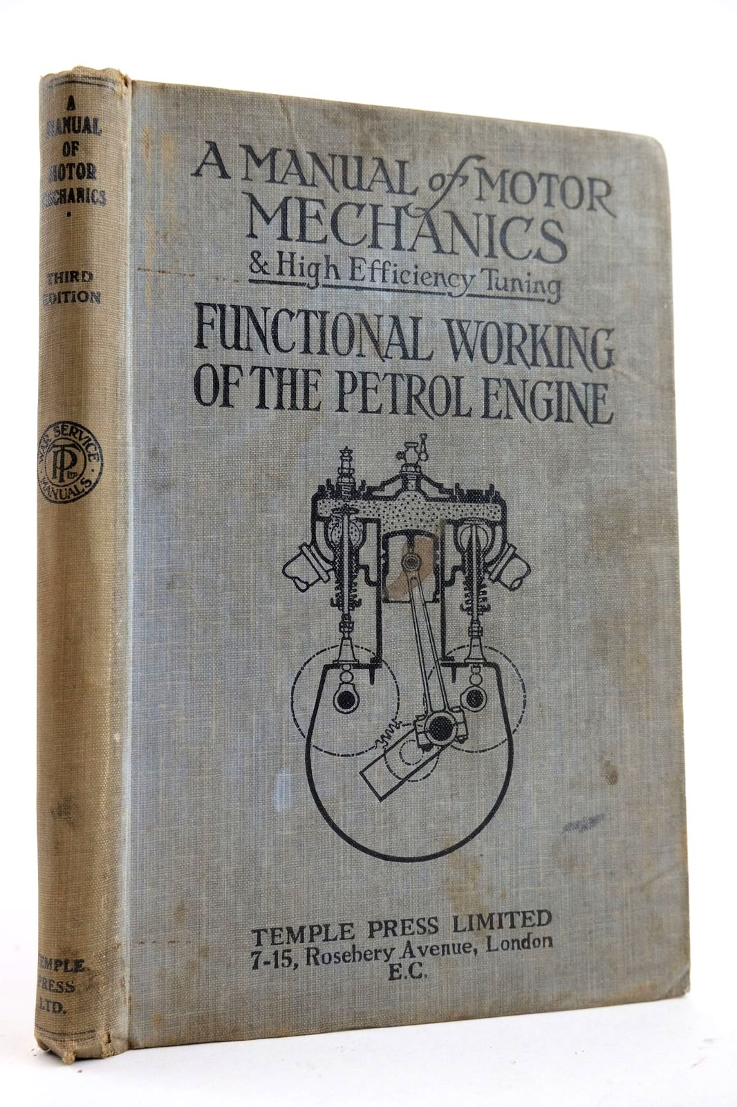 Photo of A MANUAL OF MOTOR MECHANICS AND HIGH-EFFICIENCY TUNING- Stock Number: 2132562