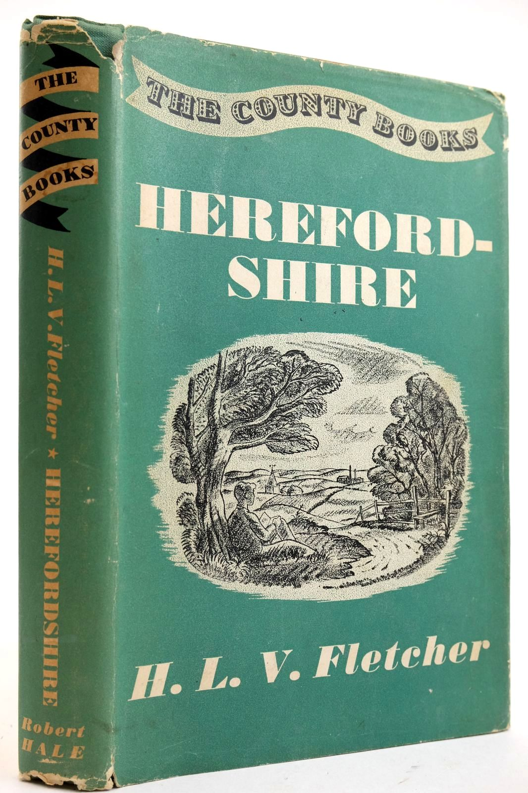 Photo of HEREFORDSHIRE written by Fletcher, H.L.V. published by Robert Hale Limited (STOCK CODE: 2132608)  for sale by Stella & Rose's Books