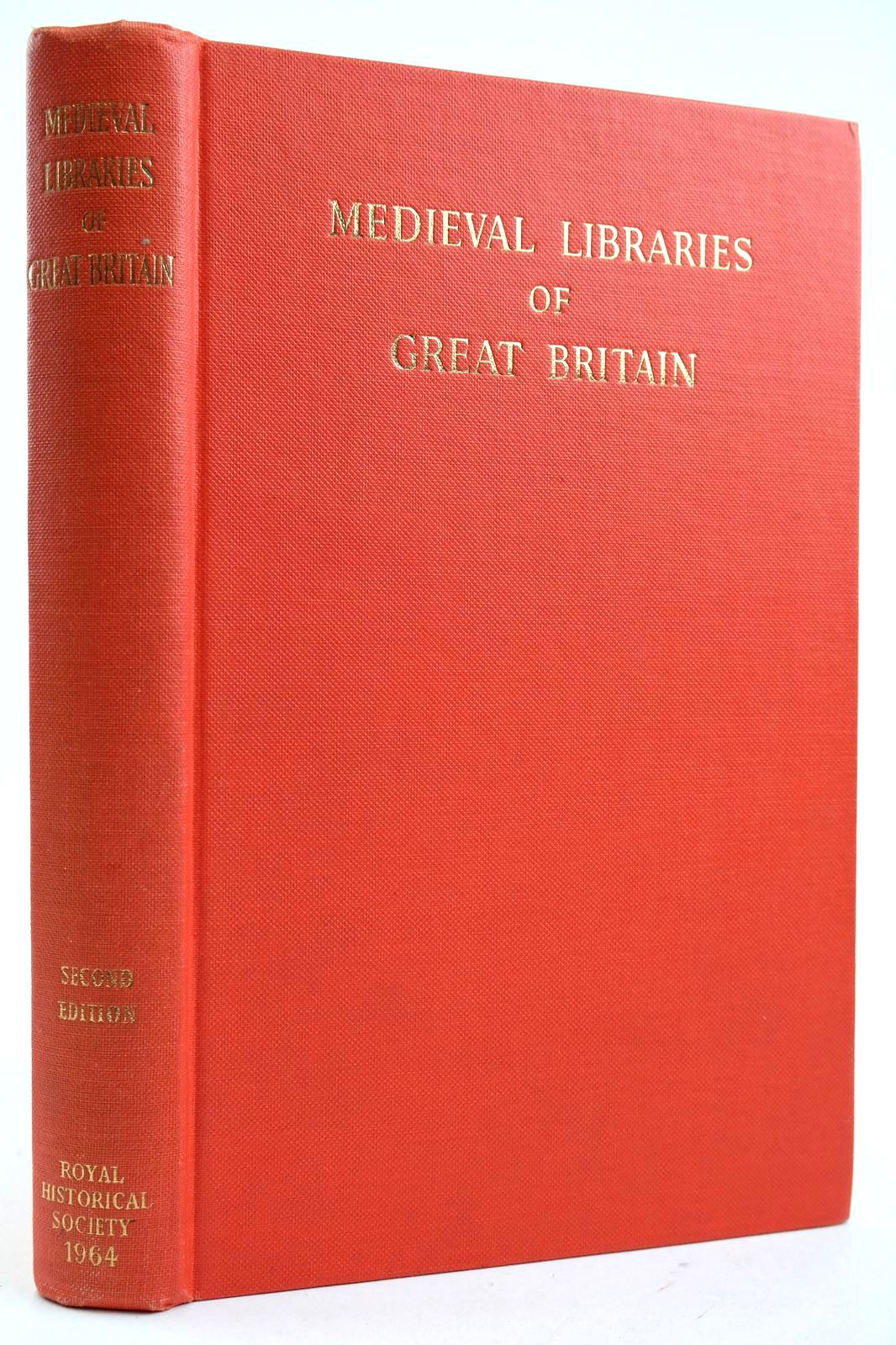 Photo of MEDIEVAL LIBRARIES OF GREAT BRITAIN A LIST OF SURVIVING BOOKS