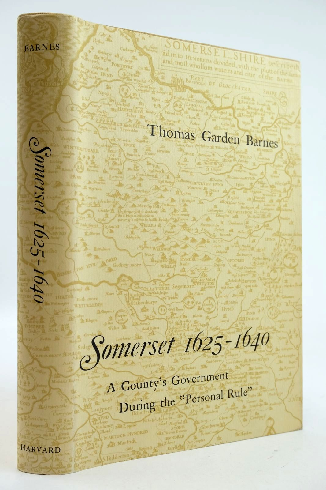 Photo of SOMERSET 1625-1640 written by Barnes, Thomas Garden published by Harvard University Press (STOCK CODE: 2132615)  for sale by Stella & Rose's Books