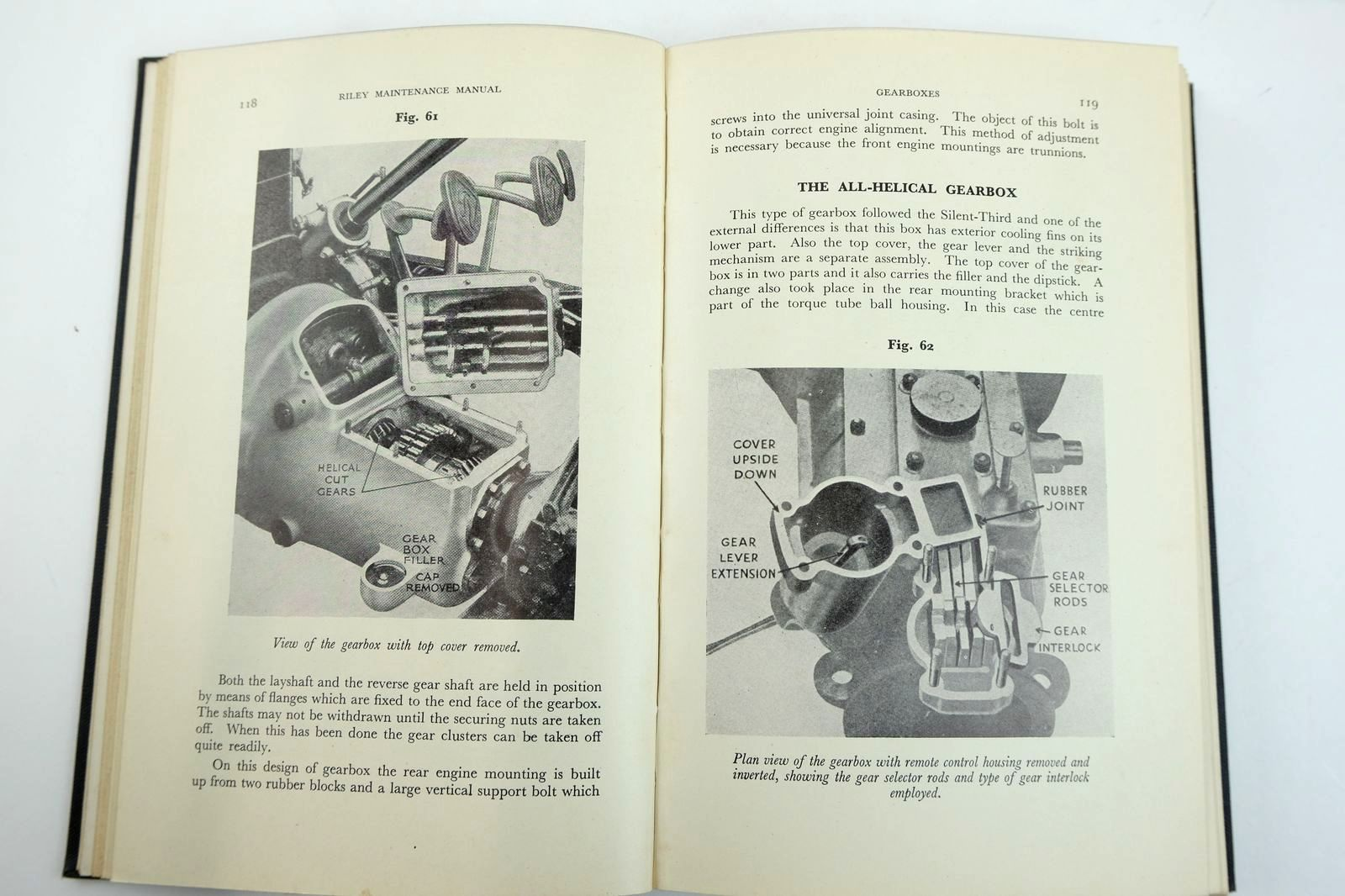 Photo of RILEY MAINTENANCE MANUAL 1930-1956 written by Haddleton, S.V. published by G.T. Foulis & Co. Ltd. (STOCK CODE: 2132621)  for sale by Stella & Rose's Books