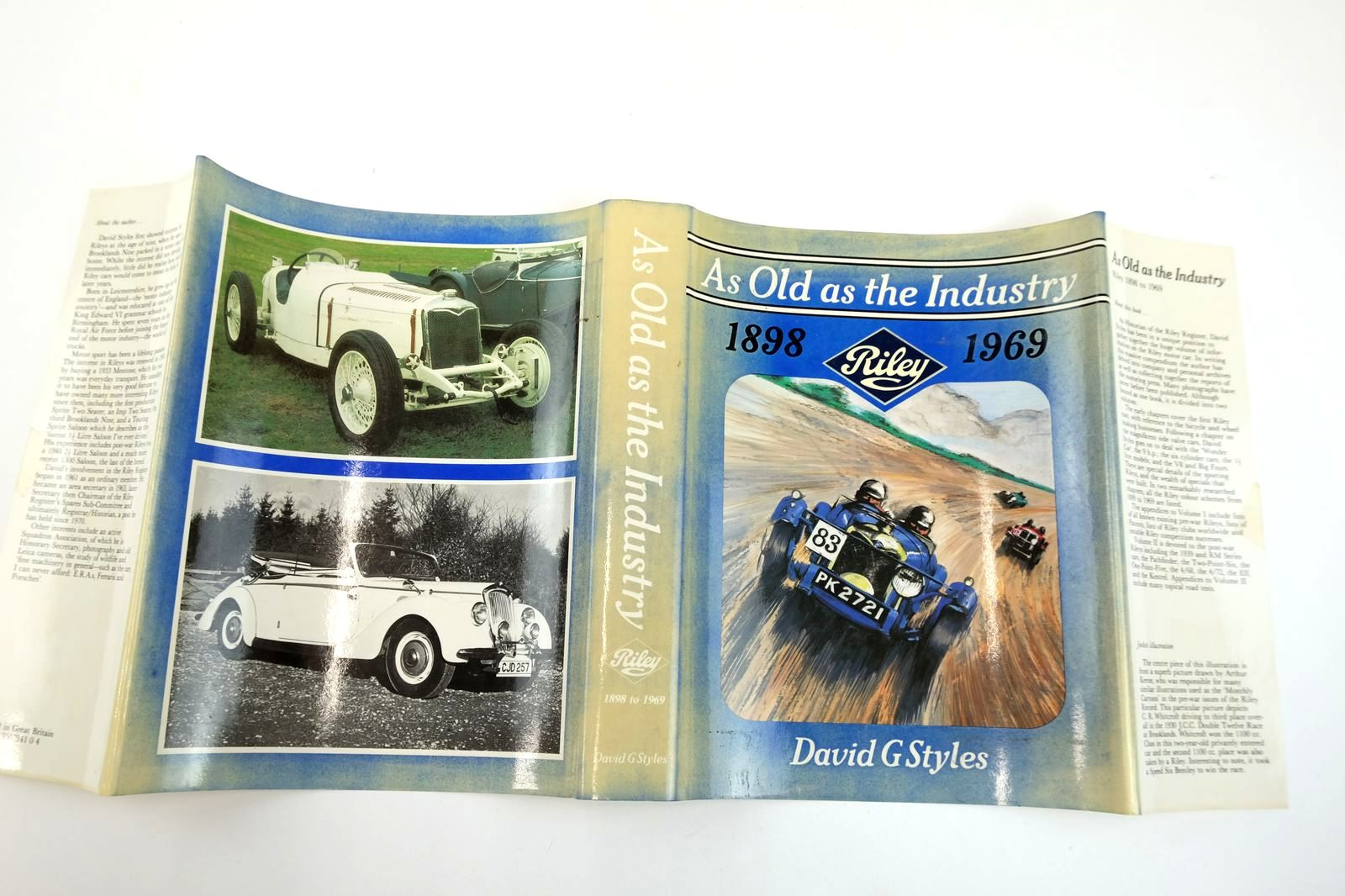 Photo of AS OLD AS THE INDUSTRY RILEY 1898 - 1969 written by Styles, David G. published by David G. Styles (STOCK CODE: 2132622)  for sale by Stella & Rose's Books