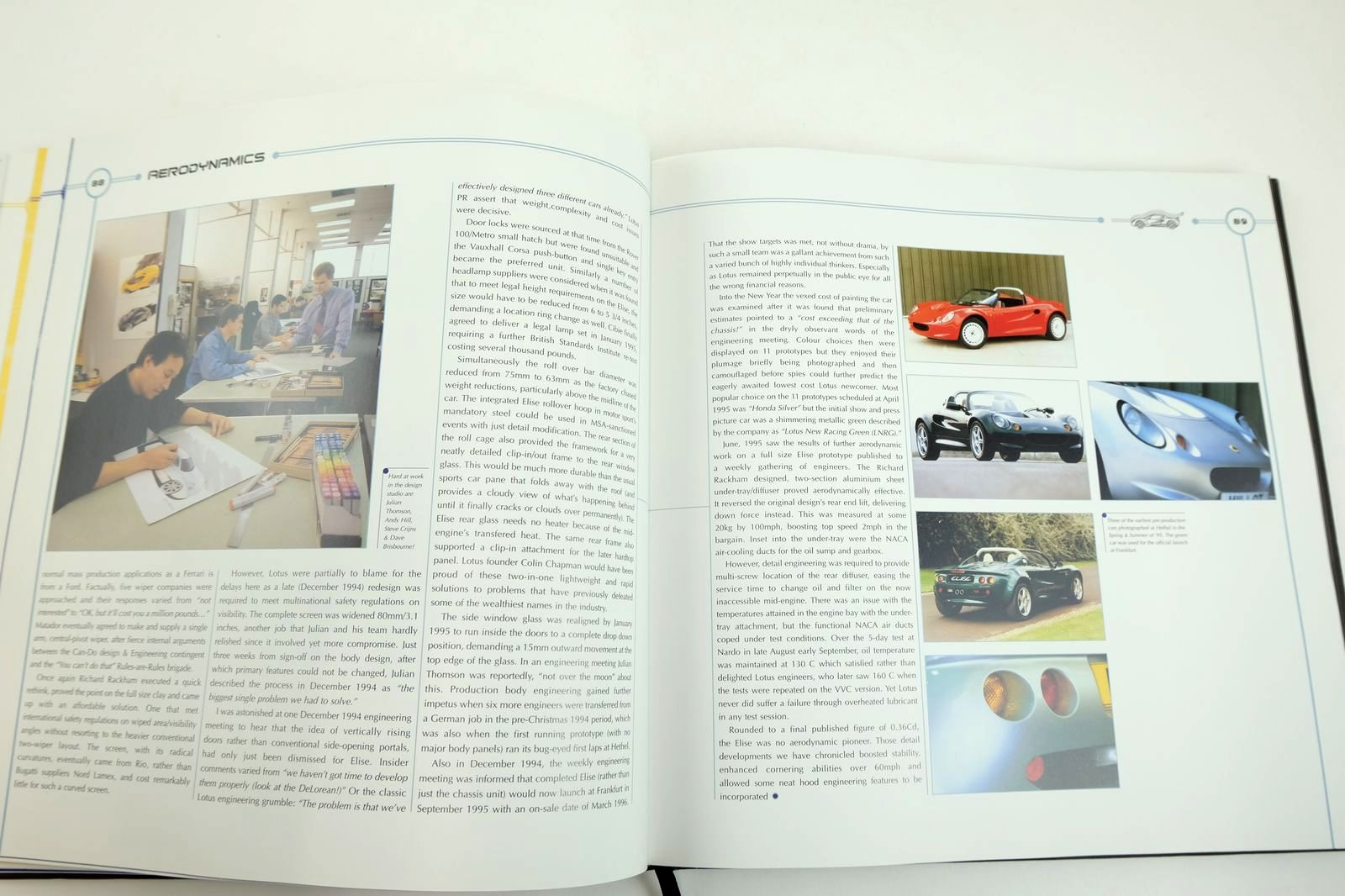 Photo of LOTUS ELISE THE OFFICIAL STORY written by Walton, Jeremy published by Coterie Press Limited (STOCK CODE: 2132626)  for sale by Stella & Rose's Books