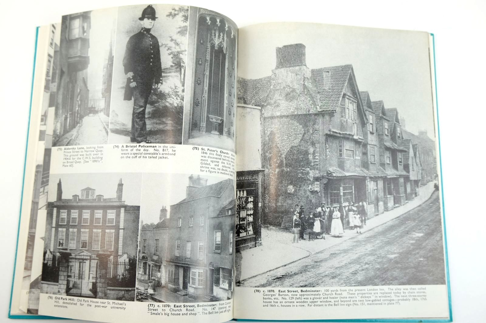 Photo of BRISTOL AS IT WAS 1874-1866 written by Winstone, Reece published by Reece Winstone (STOCK CODE: 2132635)  for sale by Stella & Rose's Books