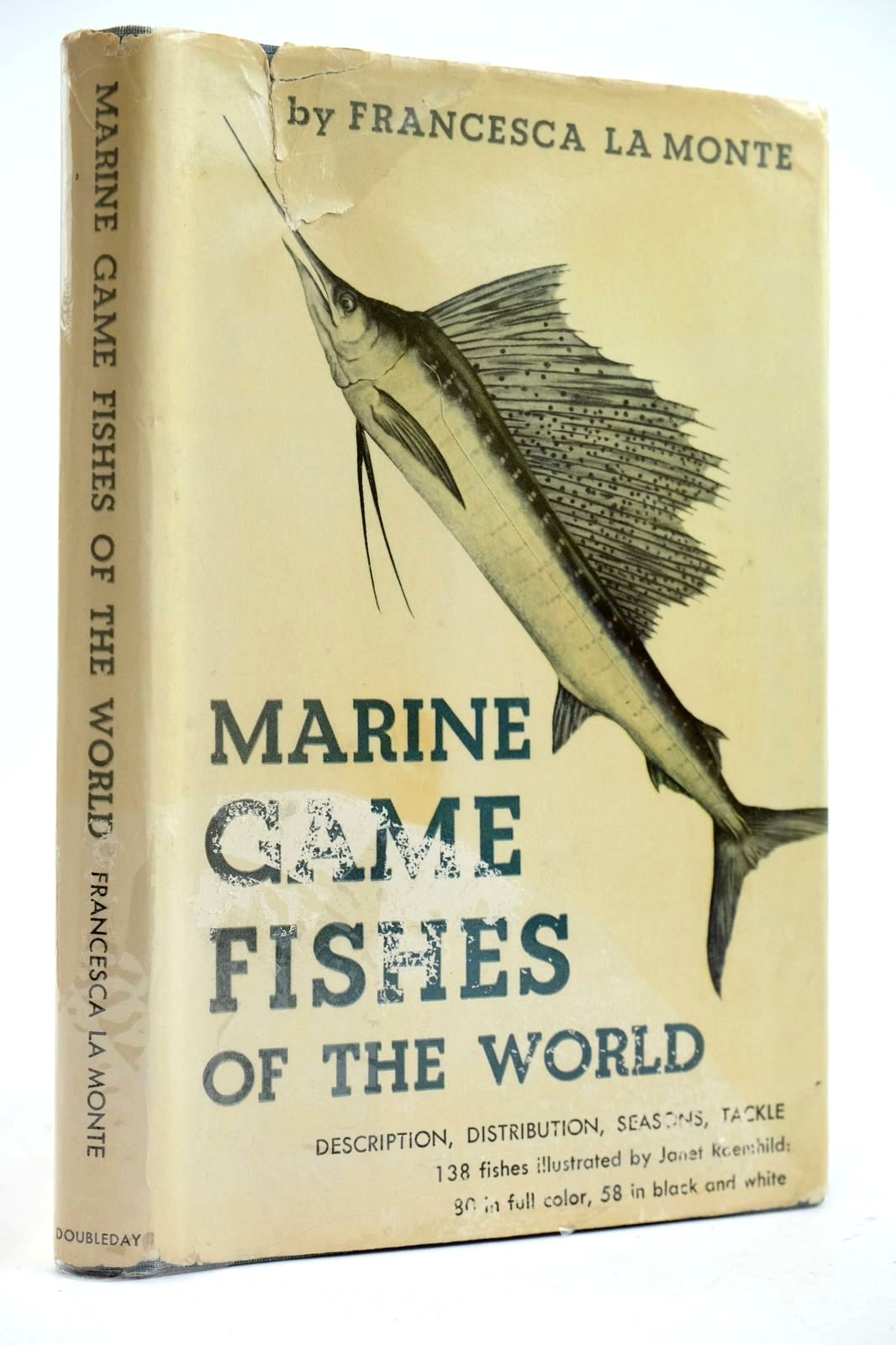 Photo of MARINE GAME FISHES OF THE WORLD written by La Monte, Francesca illustrated by Roemhild, Janet published by Doubleday & Company, Inc. (STOCK CODE: 2132678)  for sale by Stella & Rose's Books