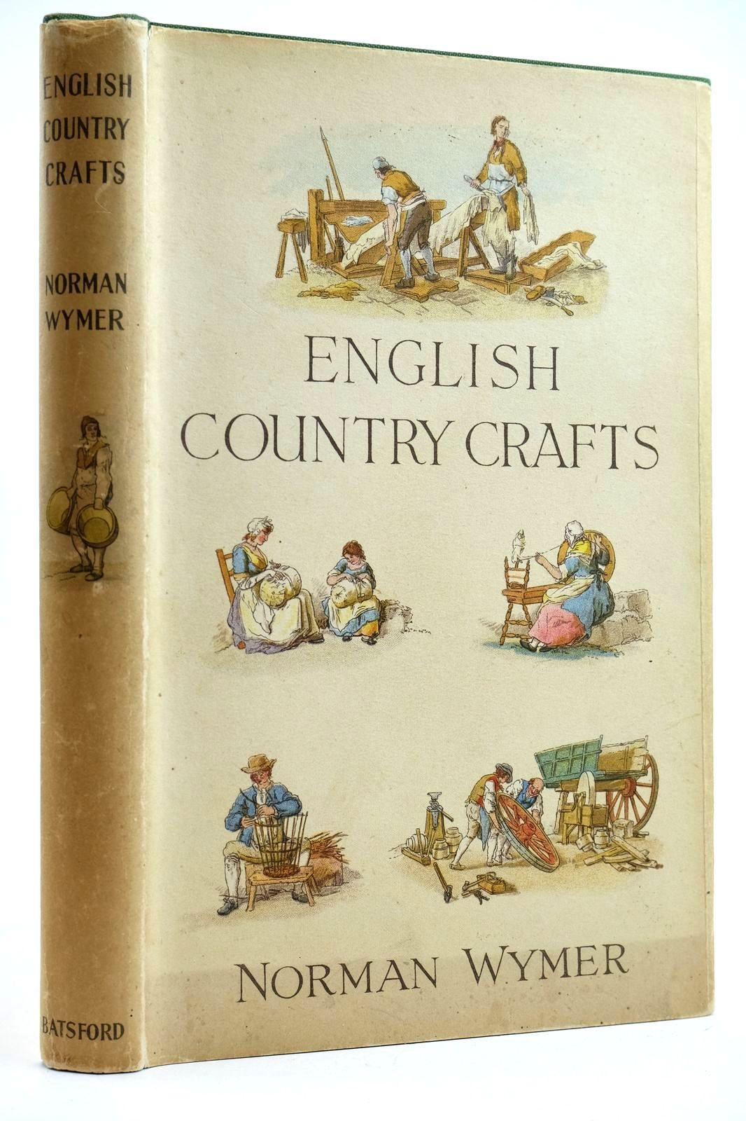 Photo of ENGLISH COUNTRY CRAFTS written by Wymer, Norman published by B.T. Batsford (STOCK CODE: 2132680)  for sale by Stella & Rose's Books