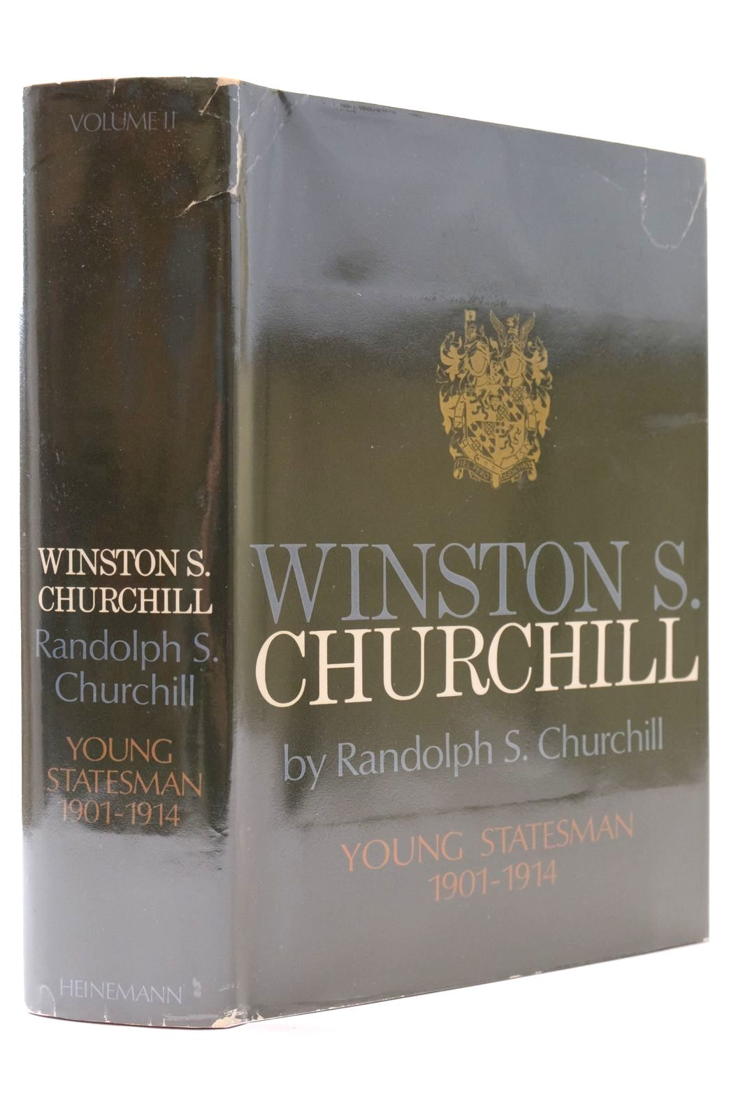 Photo of WINSTON S. CHURCHILL VOLUME II YOUNG STATESMAN 1901-1914- Stock Number: 2132684