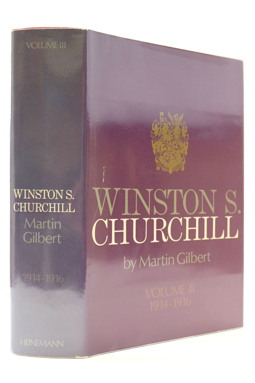 Photo of WINSTON S. CHURCHILL VOLUME III 1914-1916 written by Gilbert, Martin published by Heinemann (STOCK CODE: 2132685)  for sale by Stella & Rose's Books