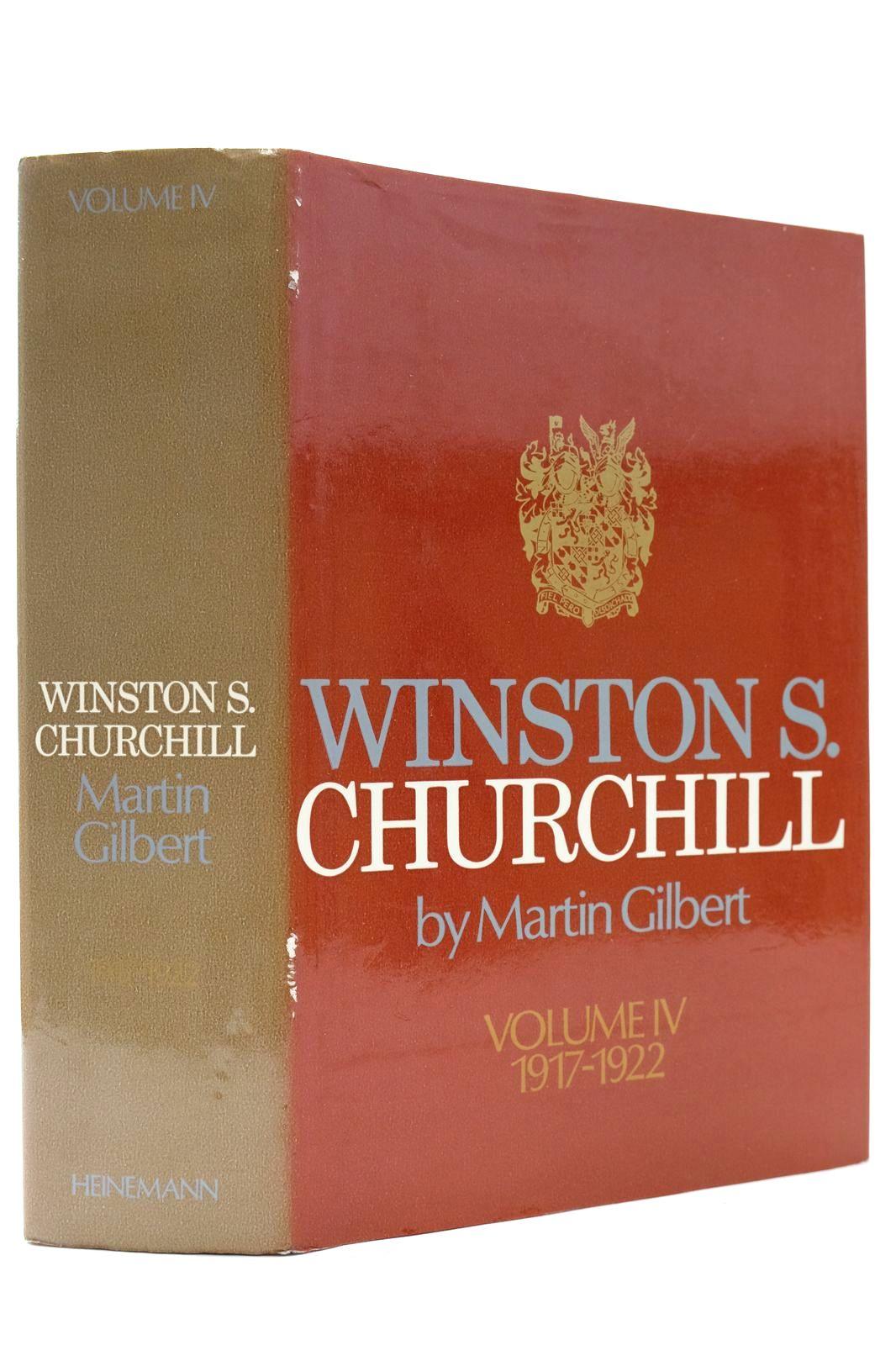 Photo of WINSTON S. CHURCHILL VOLUME IV 1917-1922- Stock Number: 2132686