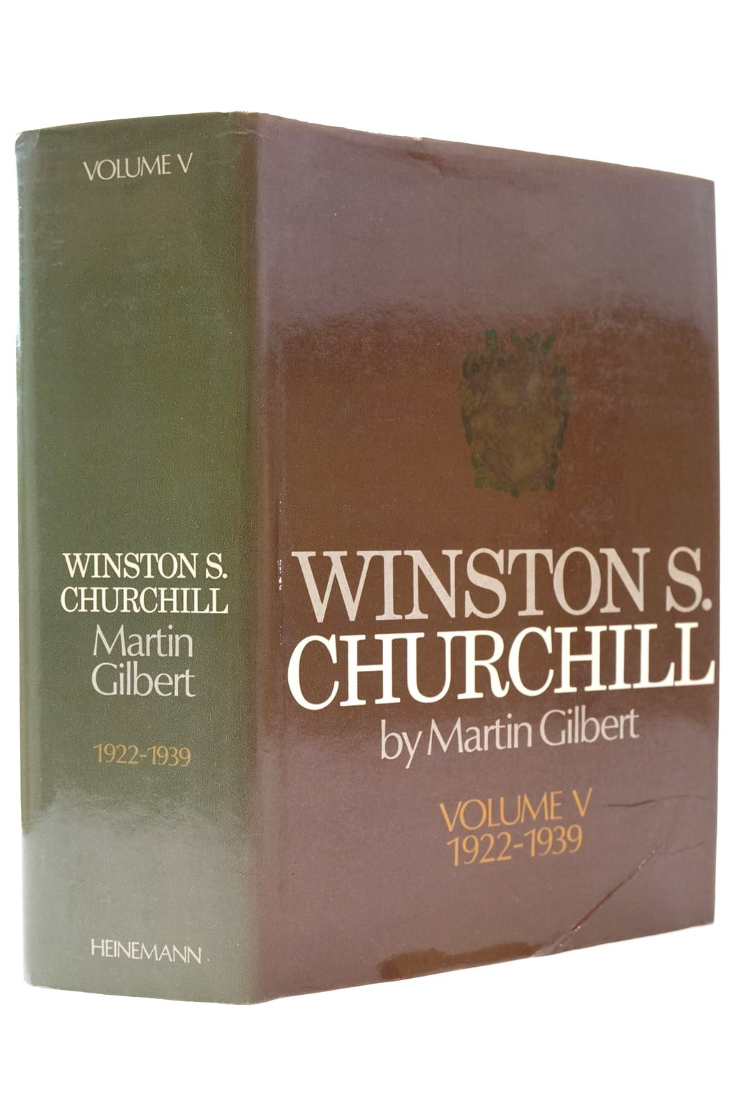 Photo of WINSTON S. CHURCHILL VOLUME V 1922-1939- Stock Number: 2132687