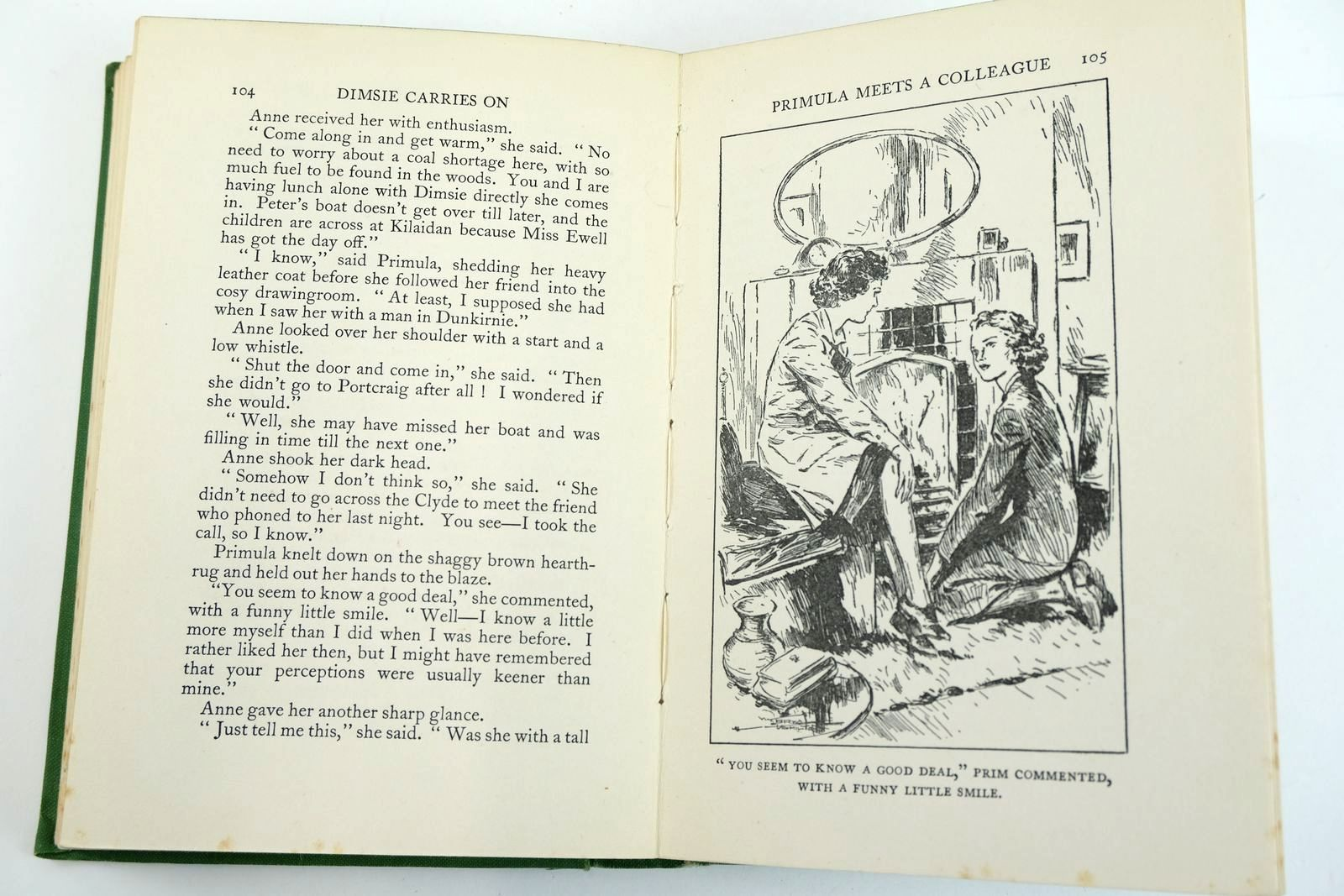 Photo of DIMSIE CARRIES ON written by Bruce, Dorita Fairlie illustrated by Hamilton, W. Bryce published by Oxford University Press (STOCK CODE: 2132694)  for sale by Stella & Rose's Books