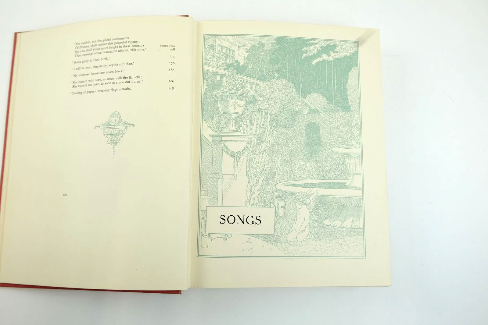 Photo of THE SONGS AND SONNETS OF WILLIAM SHAKESPEARE written by Shakespeare, William illustrated by Robinson, Charles published by David McKay (STOCK CODE: 2132697)  for sale by Stella & Rose's Books