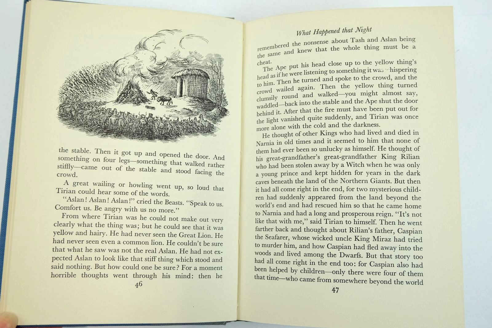 Photo of THE LAST BATTLE written by Lewis, C.S. illustrated by Baynes, Pauline published by The Bodley Head (STOCK CODE: 2132701)  for sale by Stella & Rose's Books