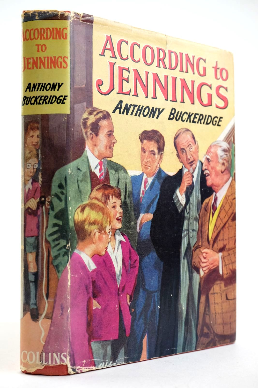 Photo of ACCORDING TO JENNINGS written by Buckeridge, Anthony published by Collins (STOCK CODE: 2132705)  for sale by Stella & Rose's Books