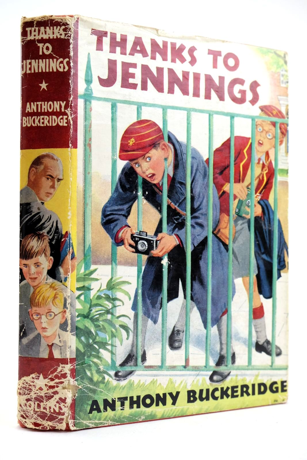 Photo of THANKS TO JENNINGS written by Buckeridge, Anthony published by Collins (STOCK CODE: 2132706)  for sale by Stella & Rose's Books