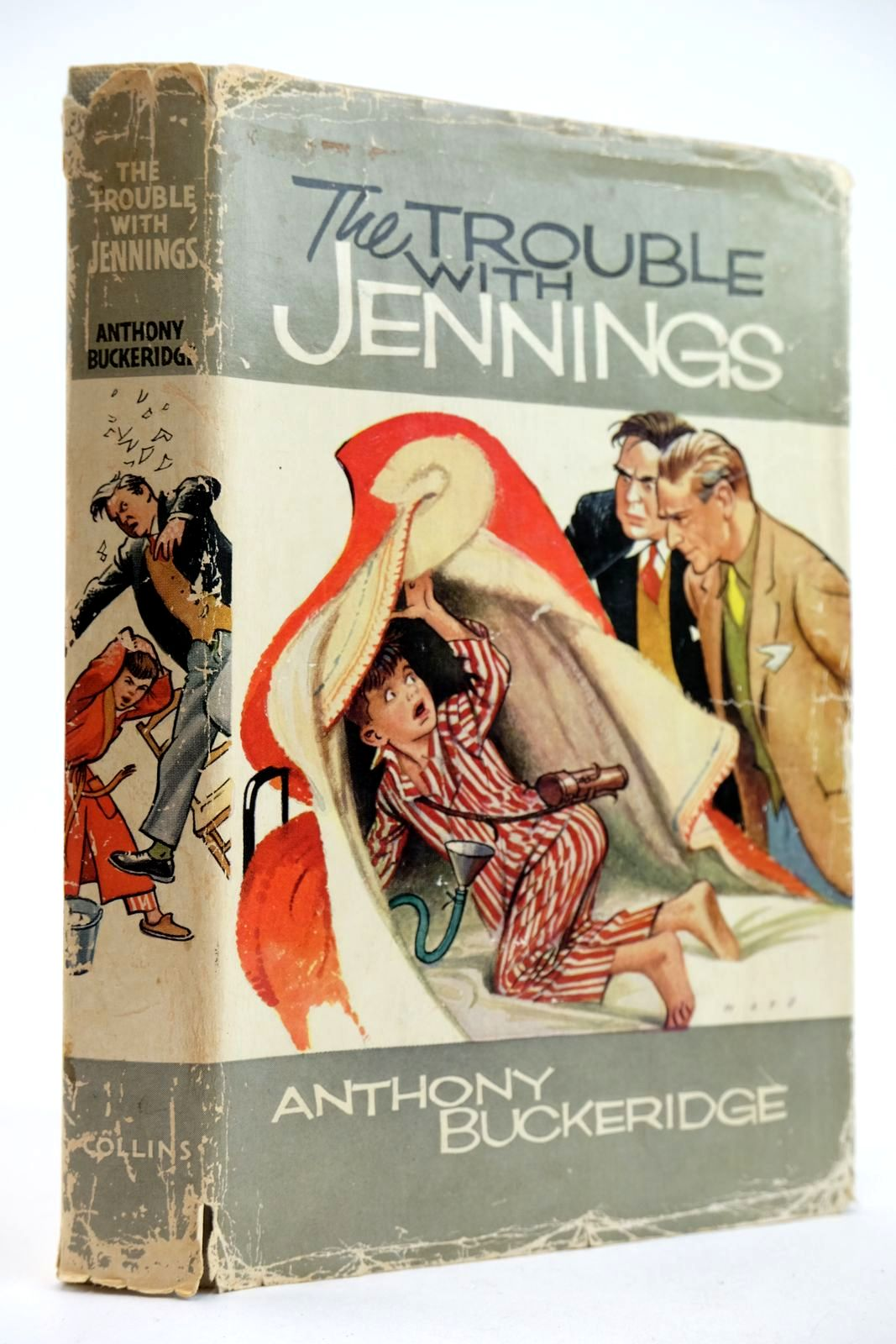 Photo of THE TROUBLE WITH JENNINGS written by Buckeridge, Anthony illustrated by Mays,  published by Collins (STOCK CODE: 2132721)  for sale by Stella & Rose's Books