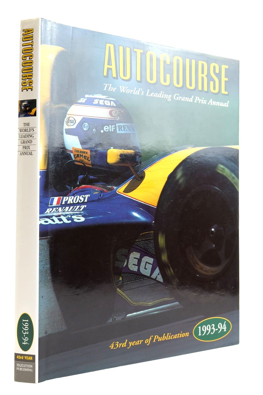 Photo of AUTOCOURSE 1993-94 published by Hazleton Publishing (STOCK CODE: 2132733)  for sale by Stella & Rose's Books