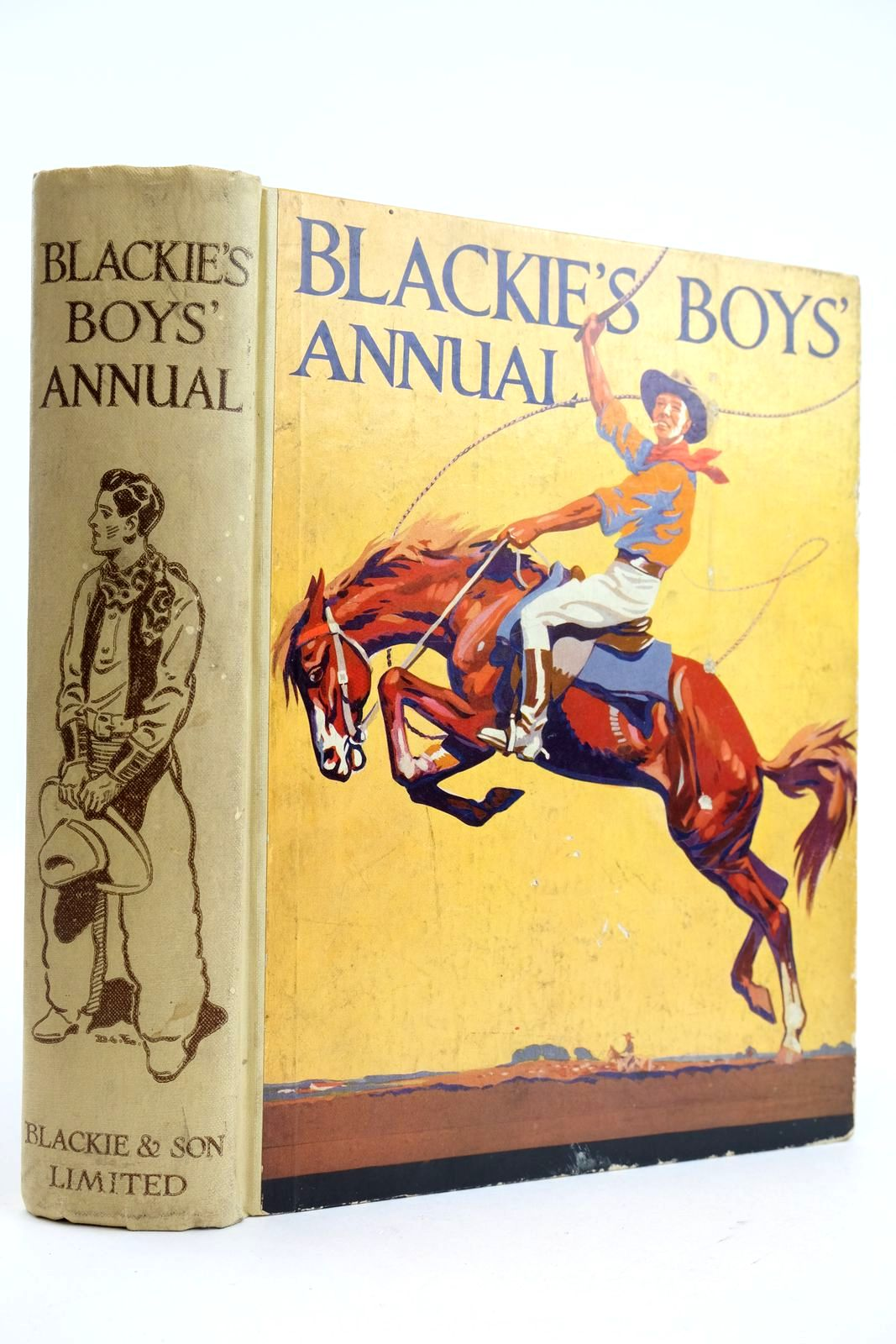 Photo of BLACKIE'S BOYS' ANNUAL written by Westerman, Percy F. et al,  illustrated by Brock, H.M. et al.,  published by Blackie & Son Ltd. (STOCK CODE: 2132738)  for sale by Stella & Rose's Books