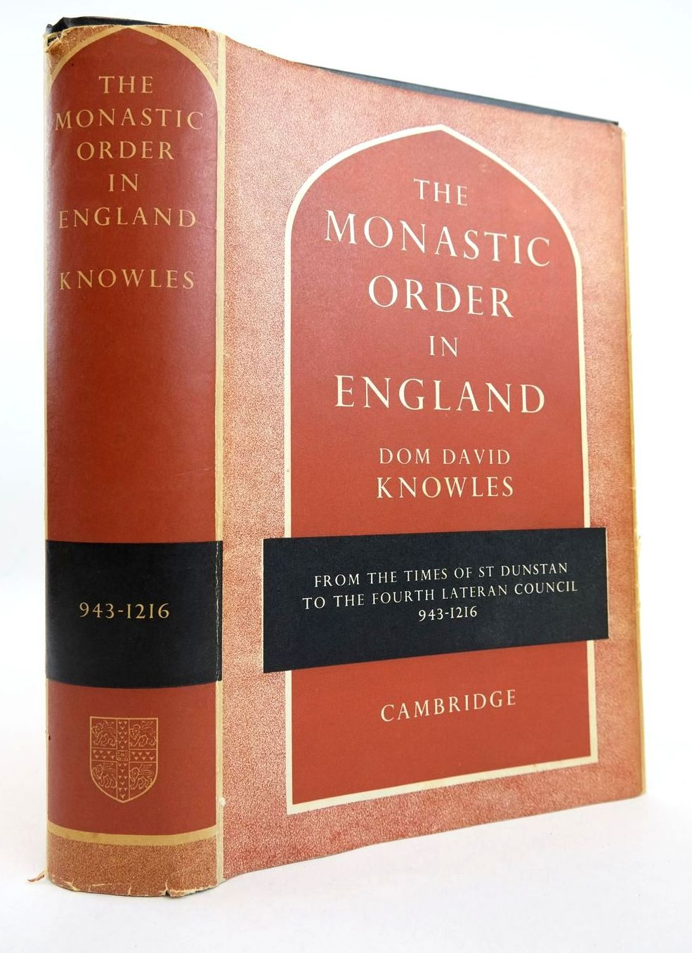 Photo of THE MONASTIC ORDER IN ENGLAND written by Knowles, David published by Cambridge University Press (STOCK CODE: 2132764)  for sale by Stella & Rose's Books