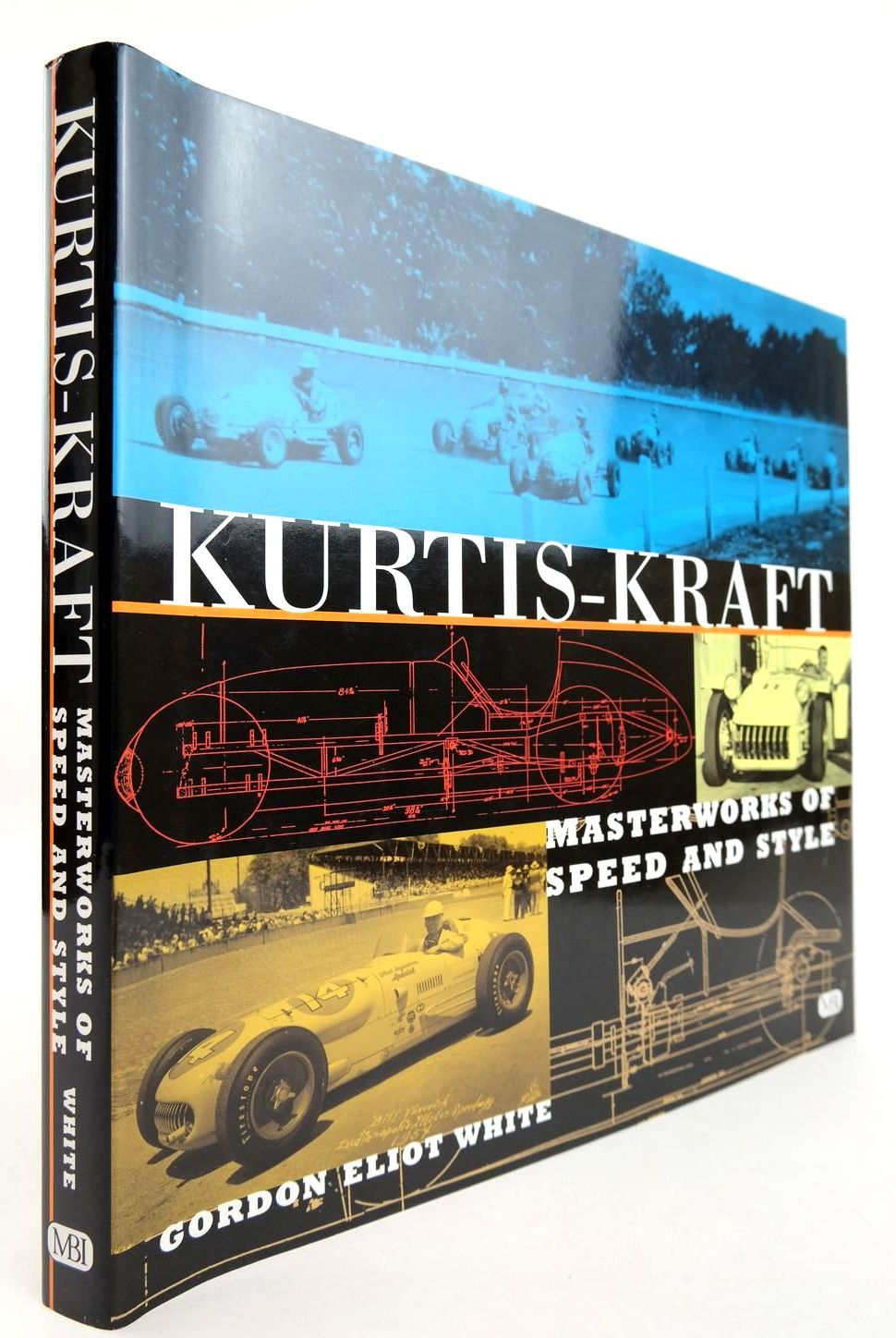 Photo of KURTIS-KRAFT MASTERWORKS OF SPEED AND STYLE written by White, Gordon Eliot published by MBI Publishing (STOCK CODE: 2132766)  for sale by Stella & Rose's Books