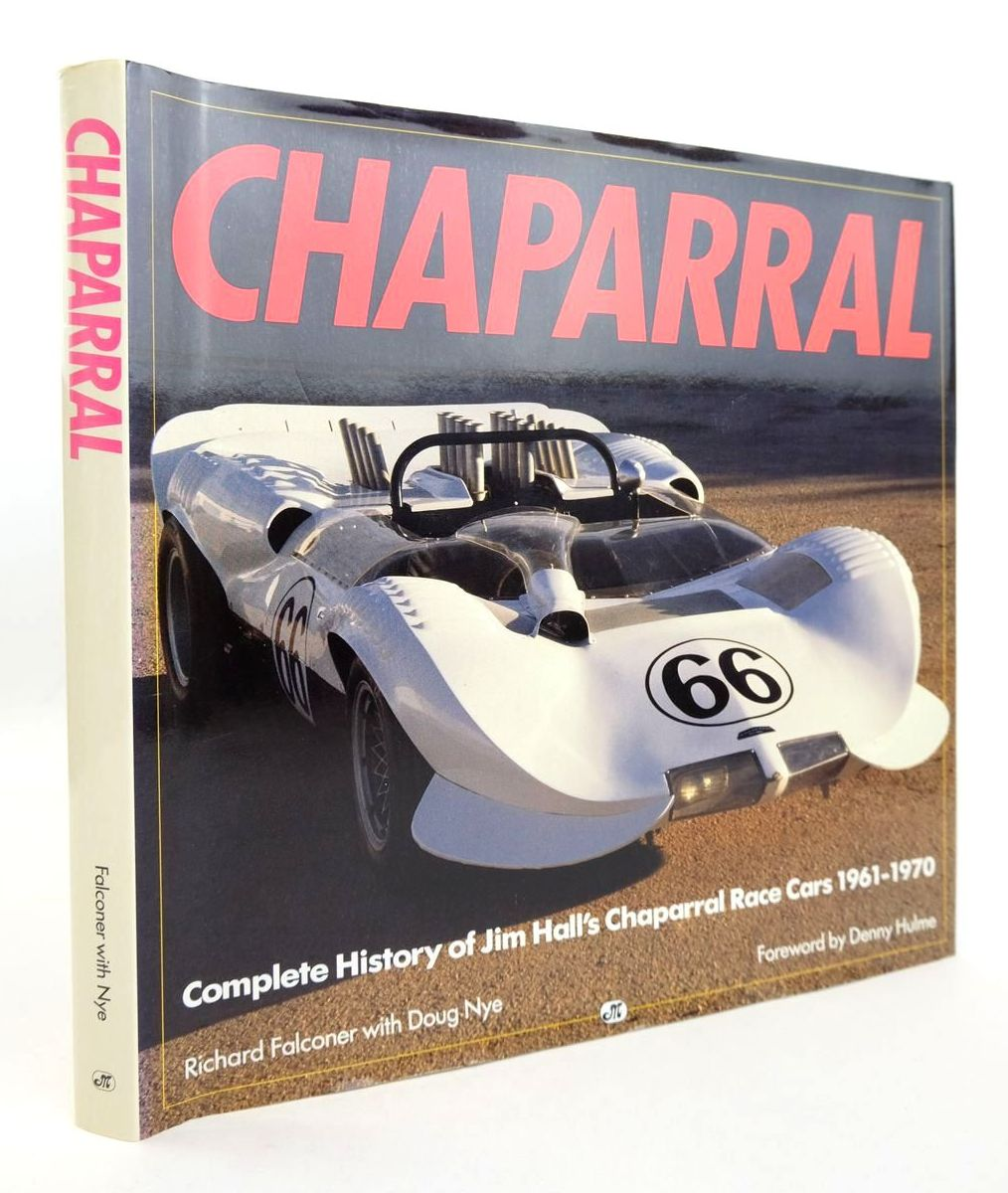 Photo of CHAPARRAL written by Falconer, Richard Nye, Doug published by Motorbooks International (STOCK CODE: 2132779)  for sale by Stella & Rose's Books