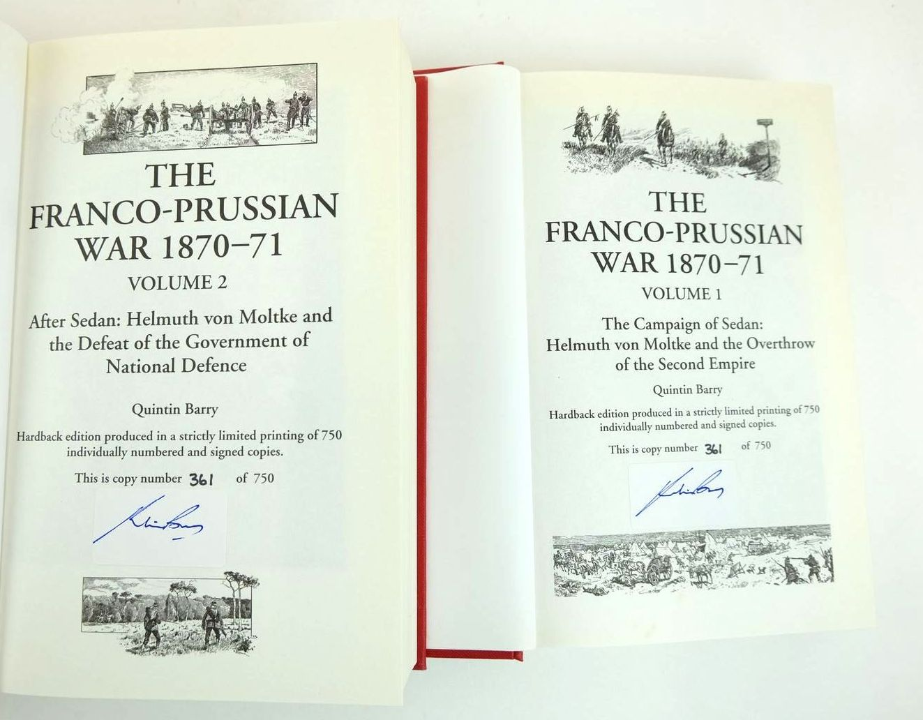 Photo of THE FRANCO-PRUSSIAN WAR 1870-71 (2 VOLUMES) written by Barry, Quintin published by Helion & Company (STOCK CODE: 2132799)  for sale by Stella & Rose's Books