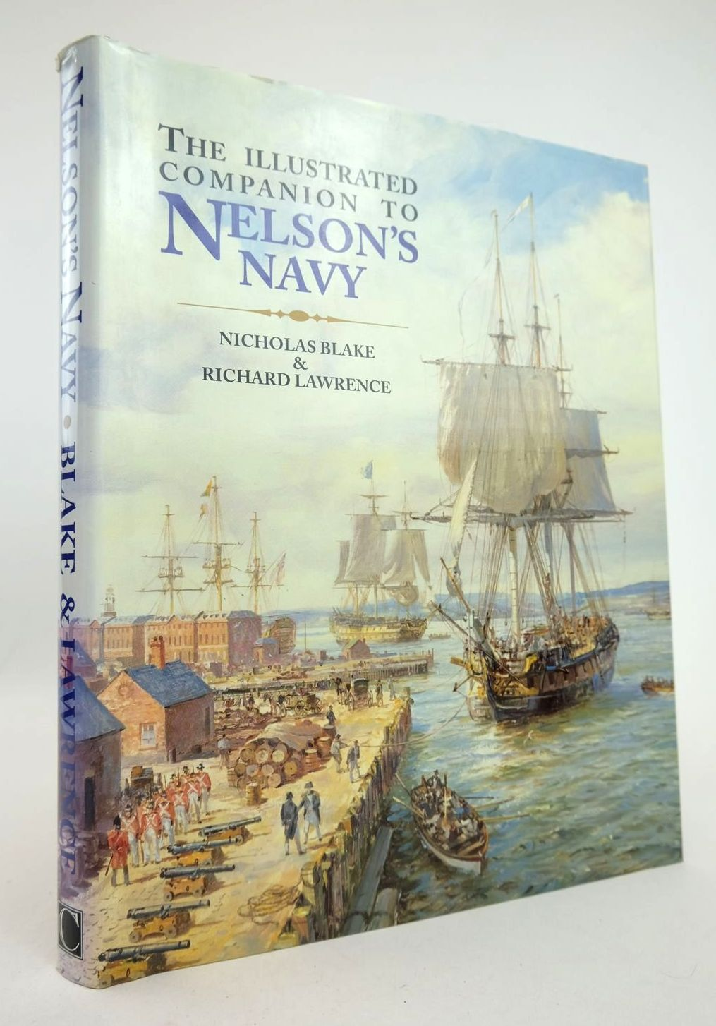 Photo of THE ILLUSTRATED COMPANION TO NELSON'S NAVY written by Blake, Nicholas