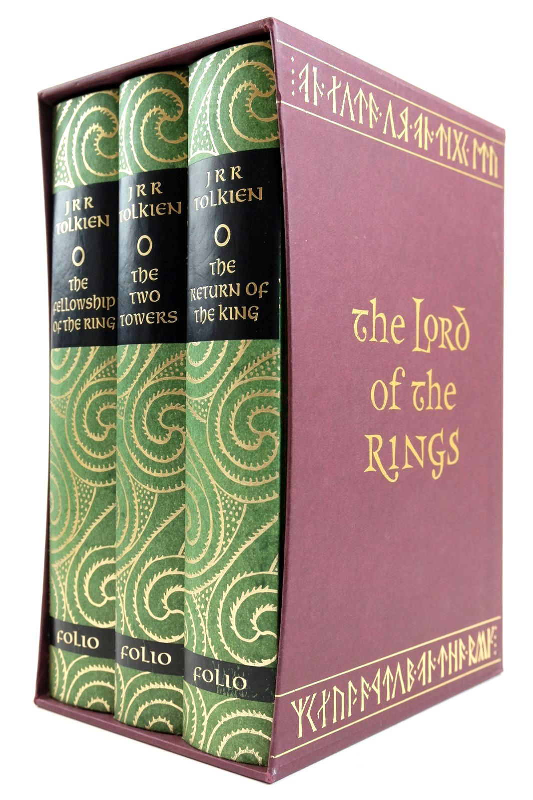 Photo of THE LORD OF THE RINGS written by Tolkien, J.R.R. illustrated by Grathmer, Ingahild Fraser, Eric published by Folio Society (STOCK CODE: 2132833)  for sale by Stella & Rose's Books