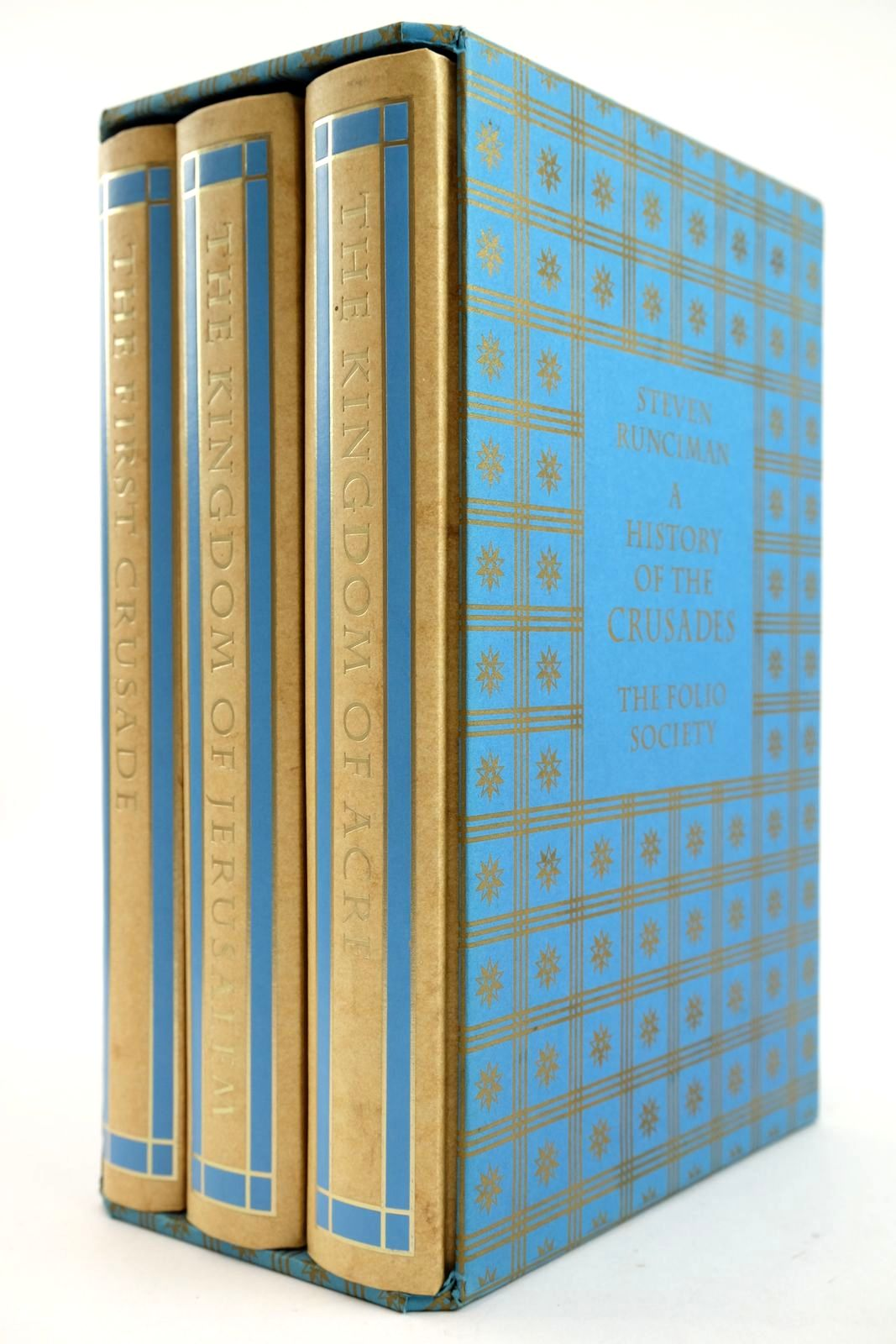 Photo of A HISTORY OF THE CRUSADES (3 VOLUMES) written by Runciman, Steven published by Folio Society (STOCK CODE: 2132834)  for sale by Stella & Rose's Books