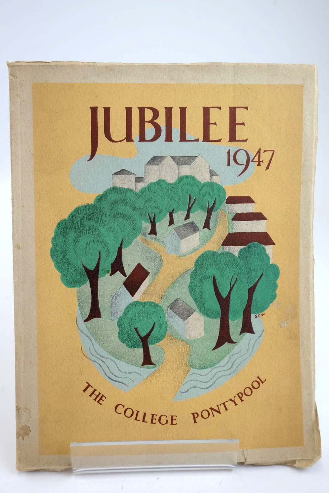Photo of JUBILEE THE HISTORY OF THE COUNTY SCHOOL FOR GIRLS, PONTYPOOL 1897-1947- Stock Number: 2132869