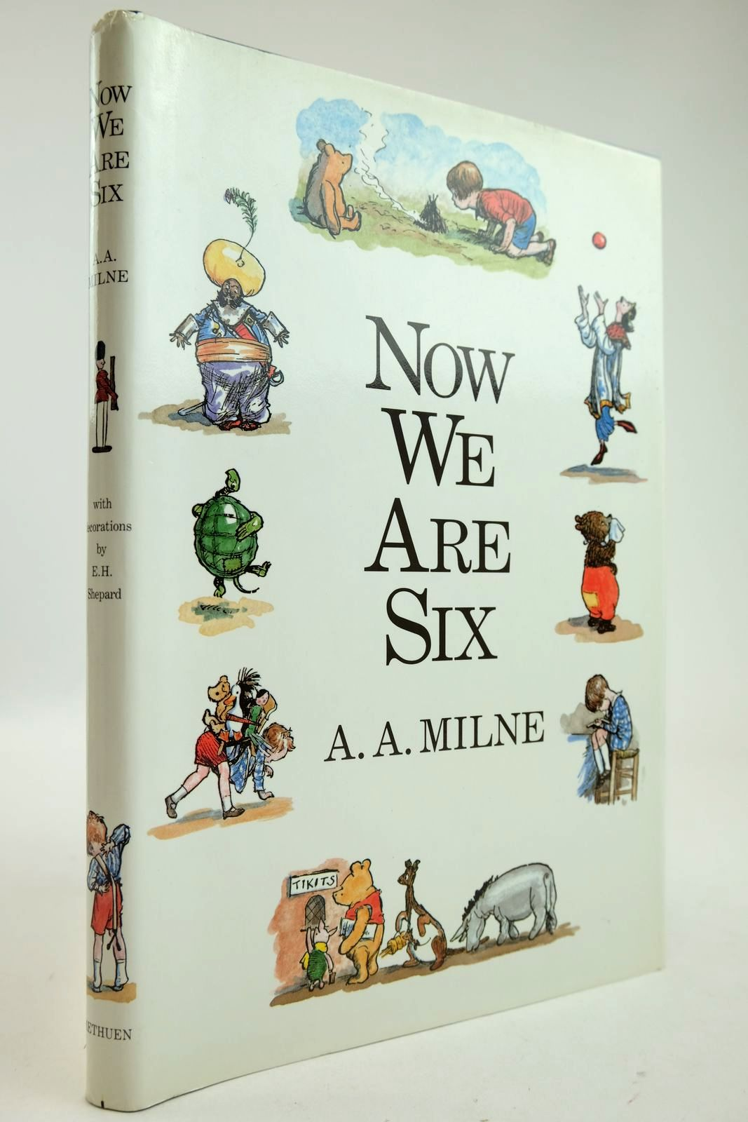 Photo of NOW WE ARE SIX written by Milne, A.A. illustrated by Shepard, E.H. published by Methuen Children's Books (STOCK CODE: 2132882)  for sale by Stella & Rose's Books