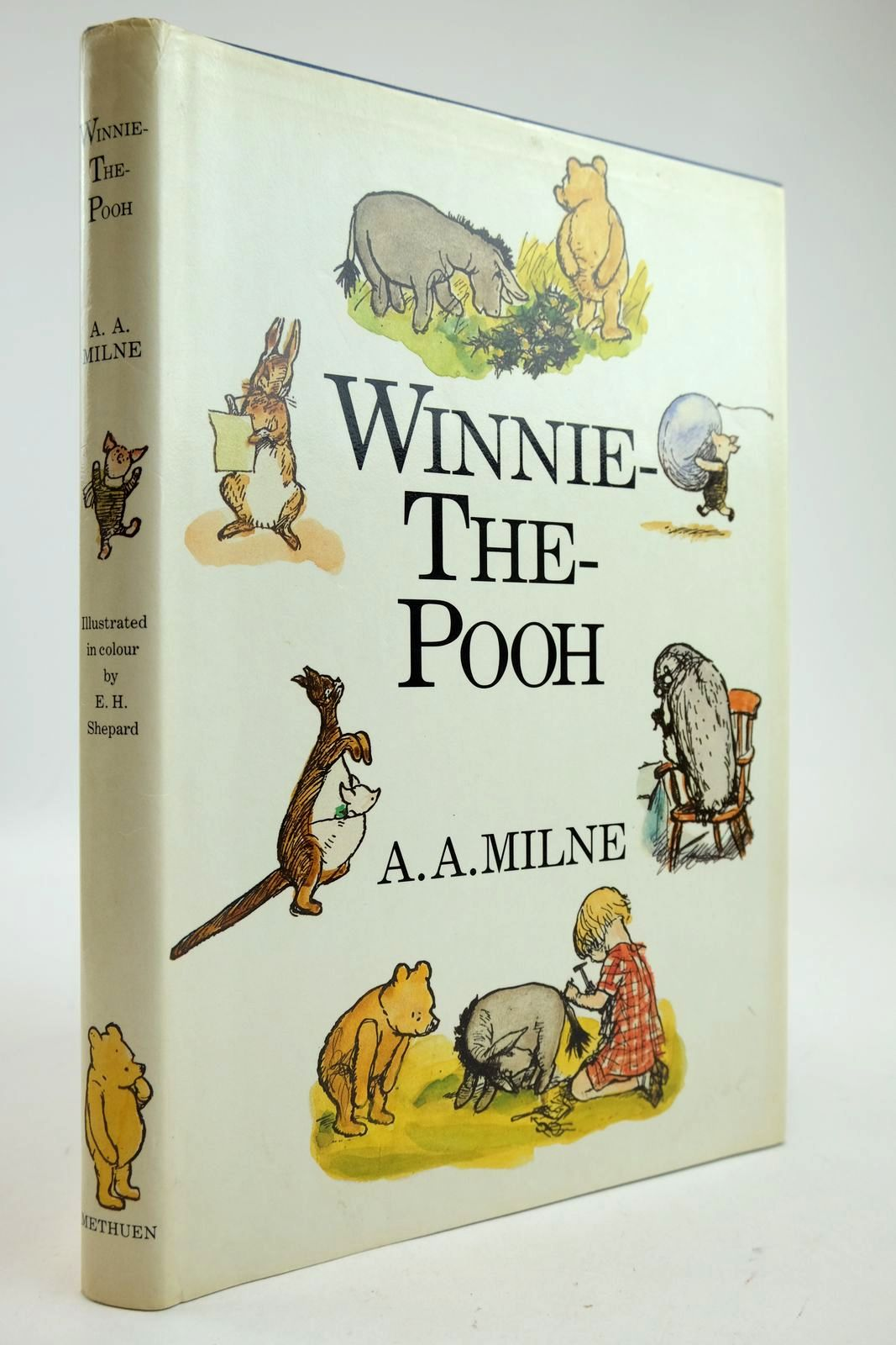 Photo of WINNIE-THE-POOH written by Milne, A.A. illustrated by Shepard, E.H. published by Methuen Children's Books (STOCK CODE: 2132883)  for sale by Stella & Rose's Books