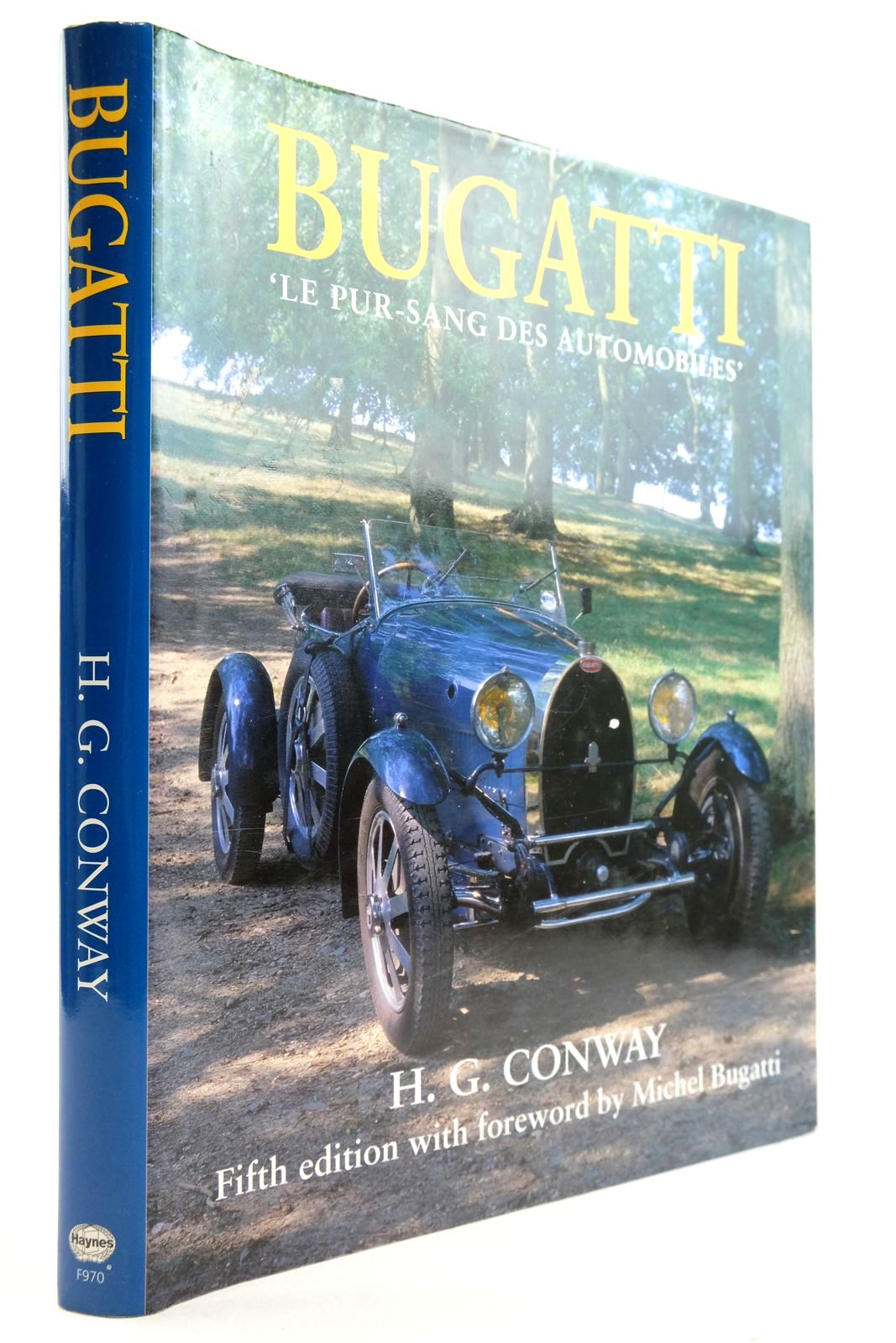 Photo of BUGATTI LE PUR-SANG DES AUTOMOBILES written by Conway, H.G. published by Haynes Publishing (STOCK CODE: 2132905)  for sale by Stella & Rose's Books