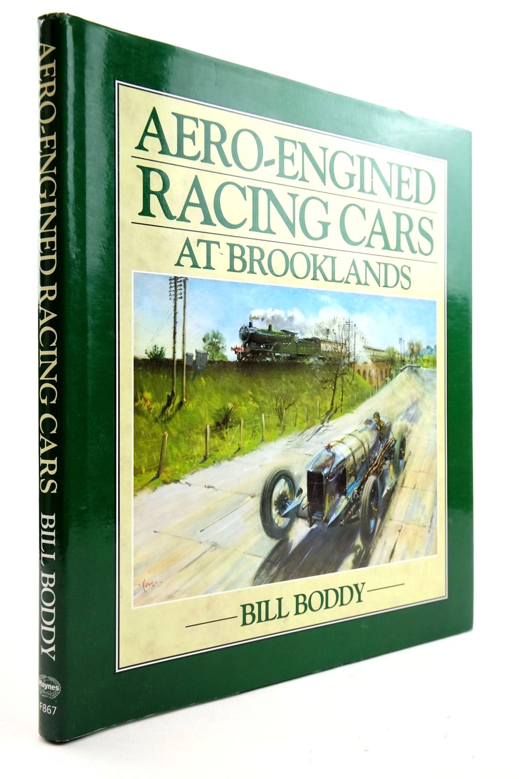 Photo of AERO-ENGINED RACING CARS AT BROOKLANDS written by Boddy, William published by Haynes Publishing Group (STOCK CODE: 2132906)  for sale by Stella & Rose's Books
