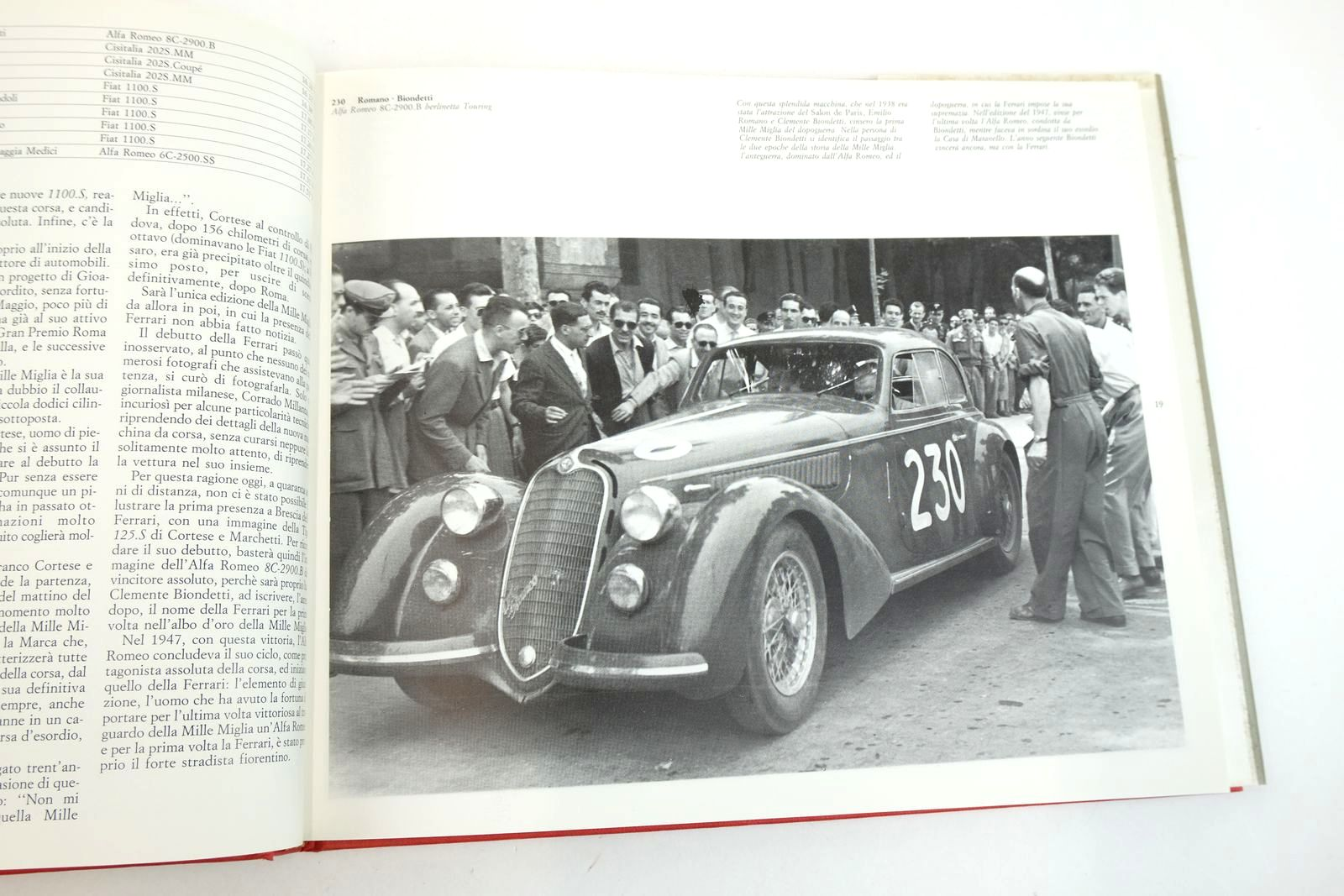 Photo of LA FERRARI ALLA MILLE MIGLIA written by Marzotto, Giannino published by Autocritica (STOCK CODE: 2132907)  for sale by Stella & Rose's Books