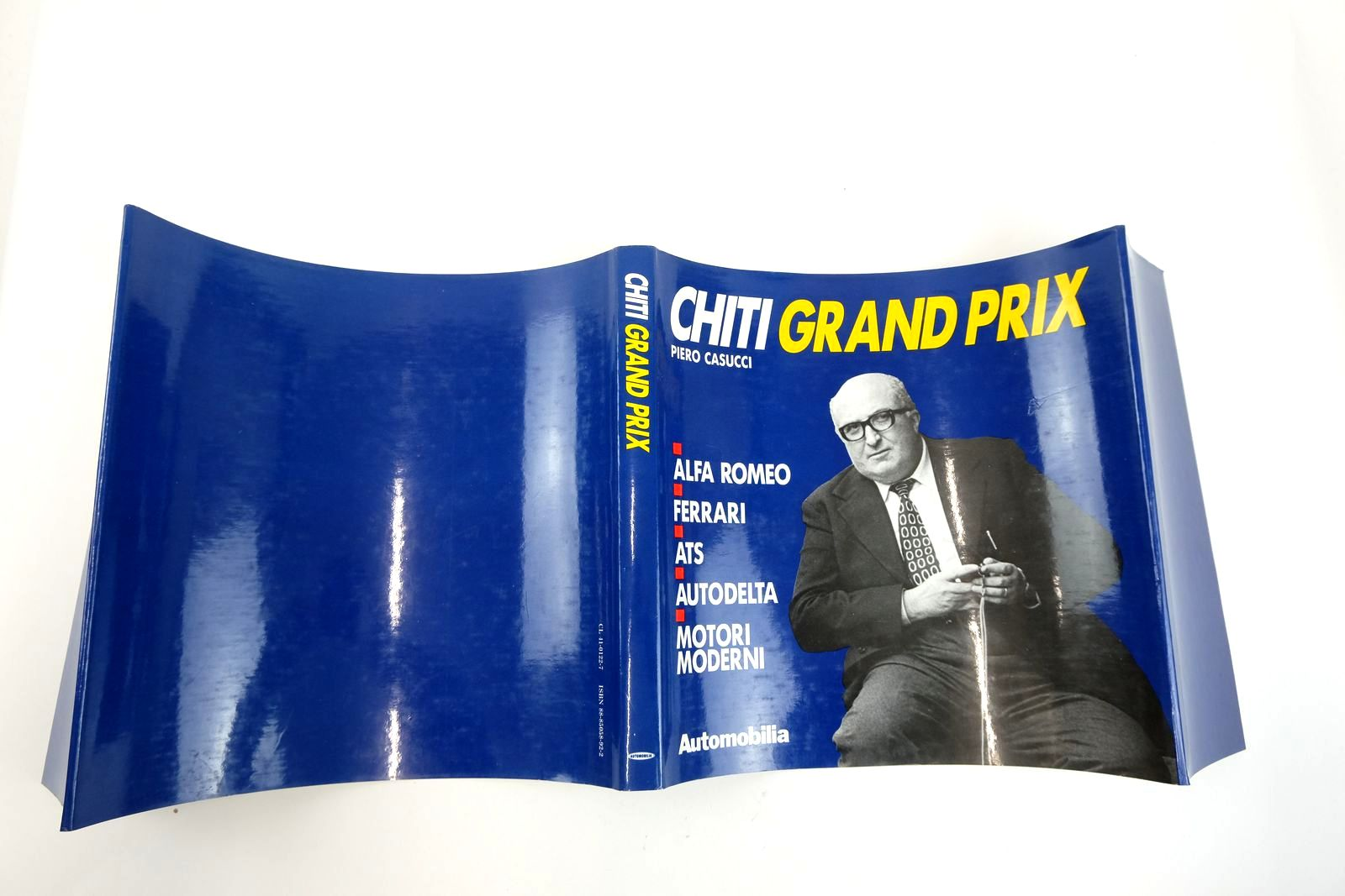Photo of CHITI GRAND PRIX written by Casucci, Piero published by Automobilia (STOCK CODE: 2132908)  for sale by Stella & Rose's Books
