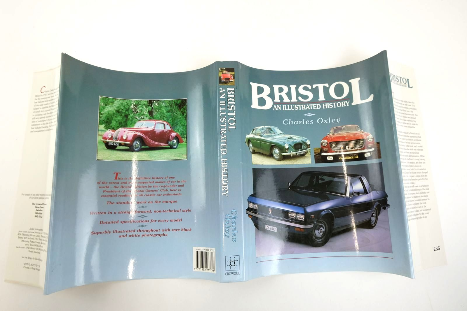 Photo of BRISTOL AN ILLUSTRATED HISTORY written by Oxley, Charles published by The Crowood Press (STOCK CODE: 2132915)  for sale by Stella & Rose's Books