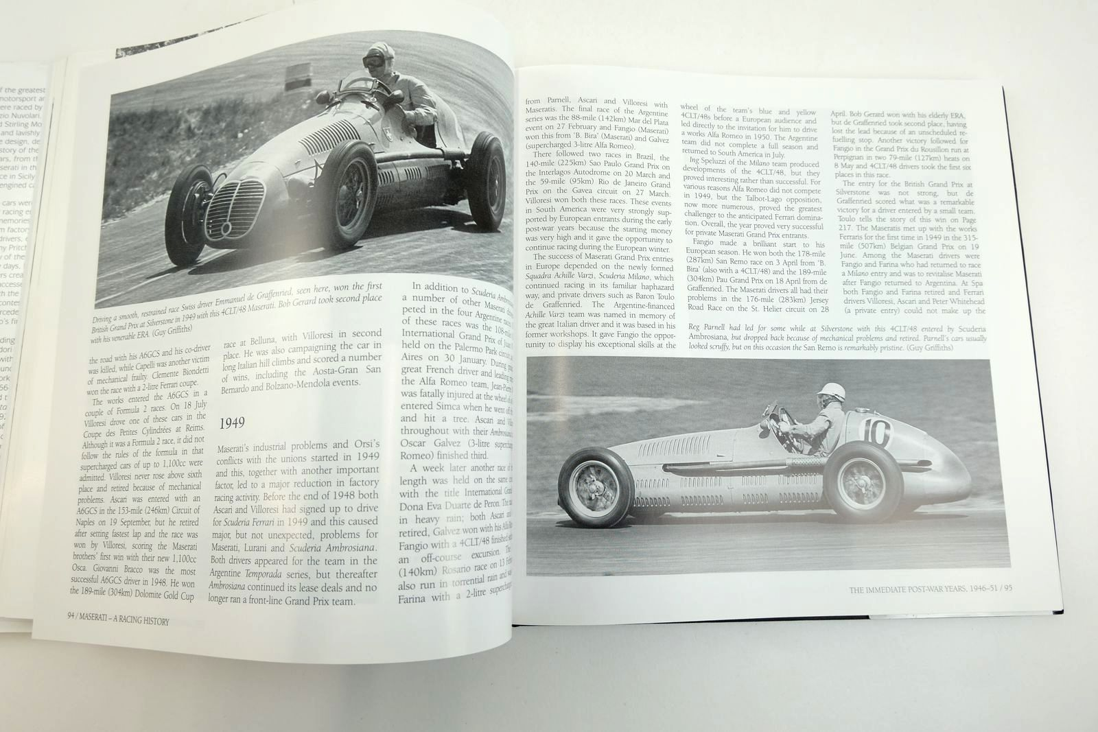 Photo of MASERATI A RACING HISTORY written by Pritchard, Anthony published by Haynes Publishing (STOCK CODE: 2132917)  for sale by Stella & Rose's Books